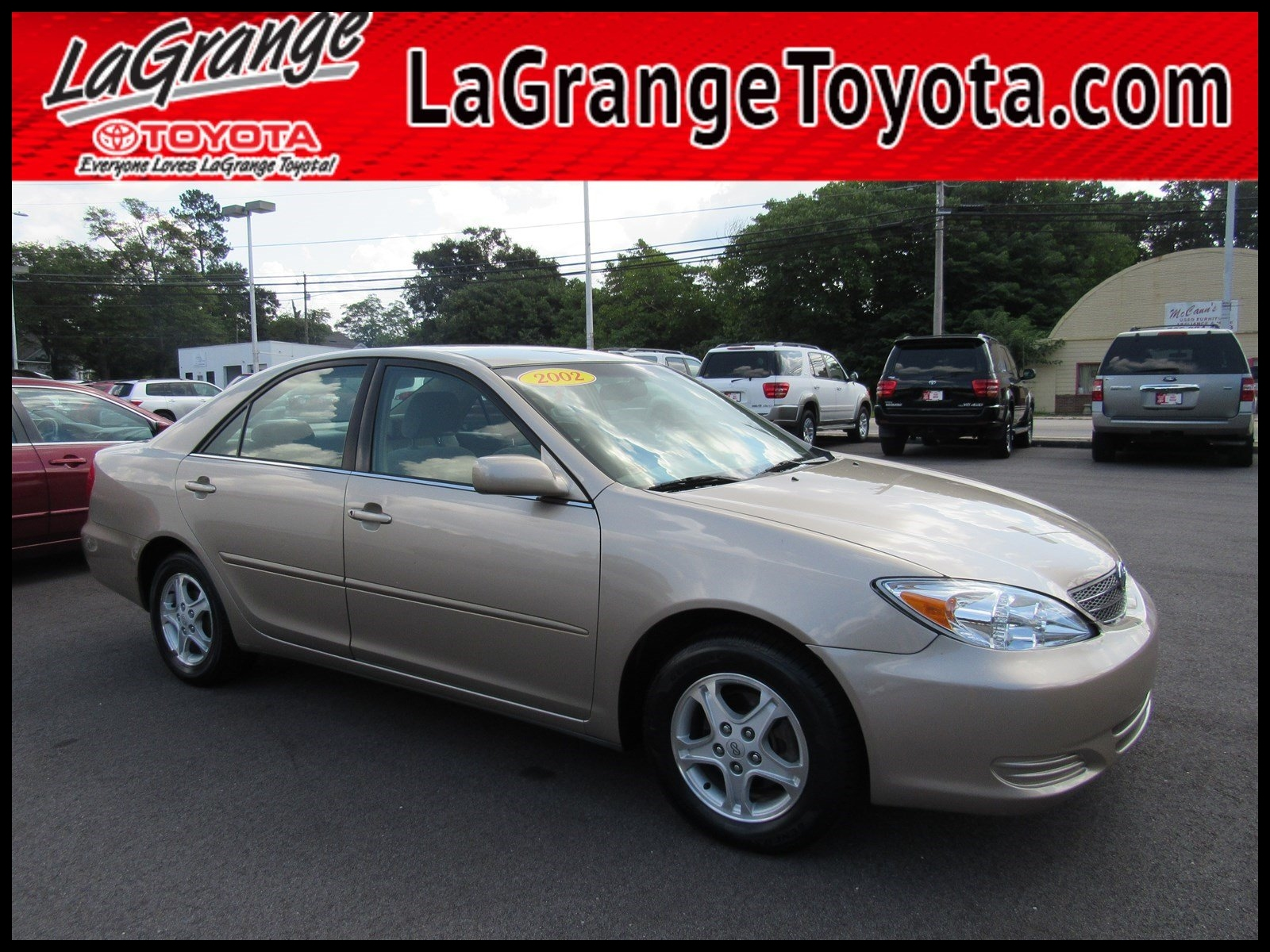 Pre Owned 2002 Toyota Camry 4dr Sdn LE Auto