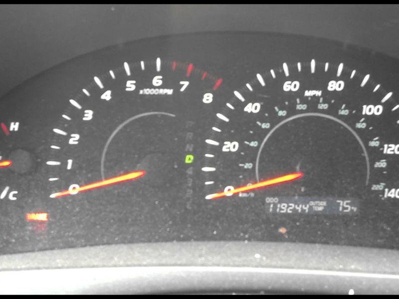 Toyota Camry 2007 Dashboard Warning Lights