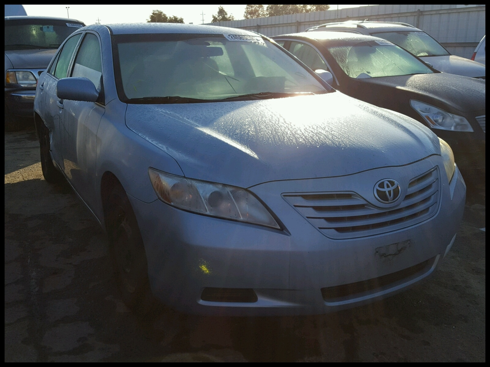 4T1BE46K88U 2008 TOYOTA CAMRY CE 2 4L Left View