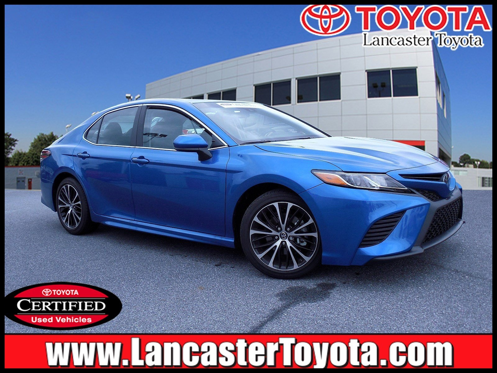 Certified Pre Owned 2018 Toyota Camry SE