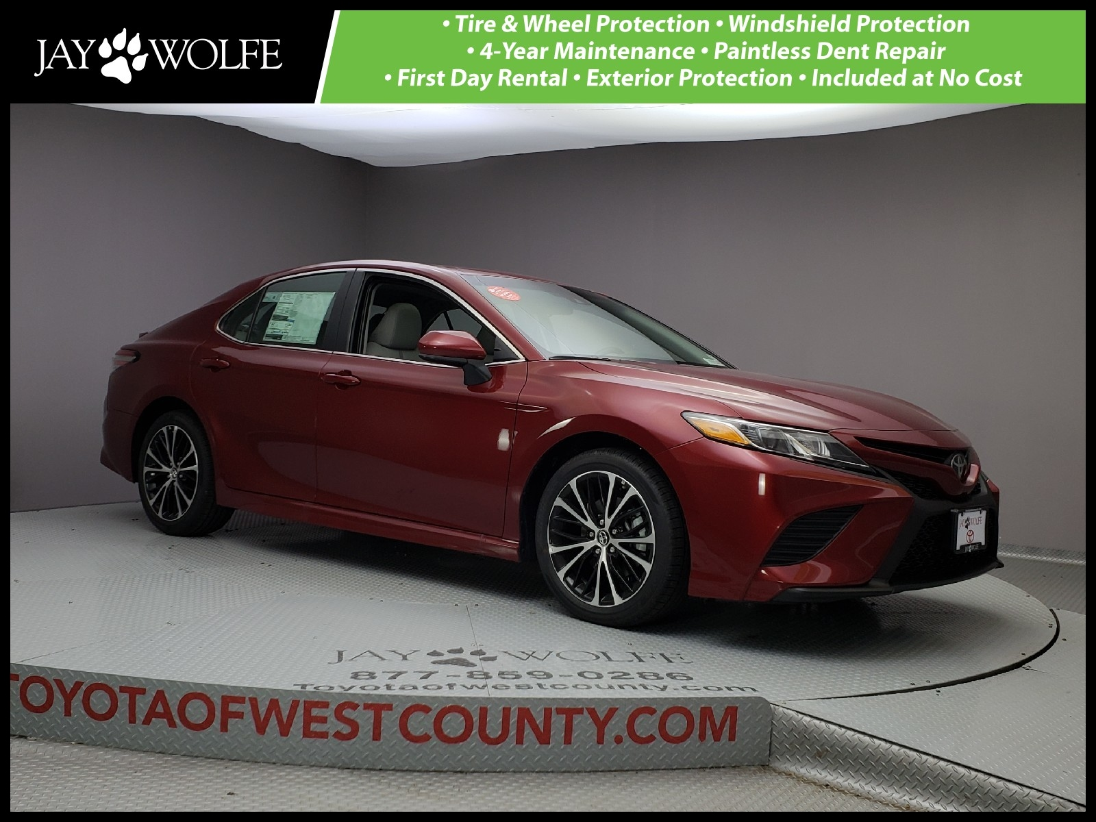 New 2018 TOYOTA CAMRY SE AUTO Sedan in Ballwin W