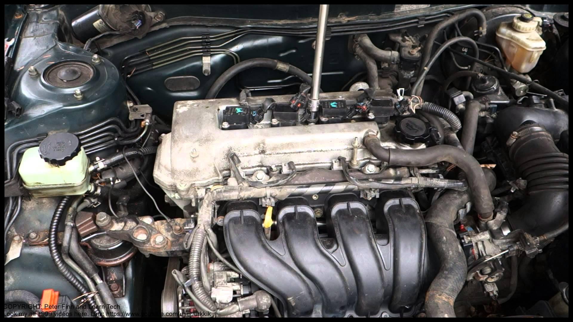 How to repair engine error failure code P0303 Toyota Corolla Years 2000 to 2015