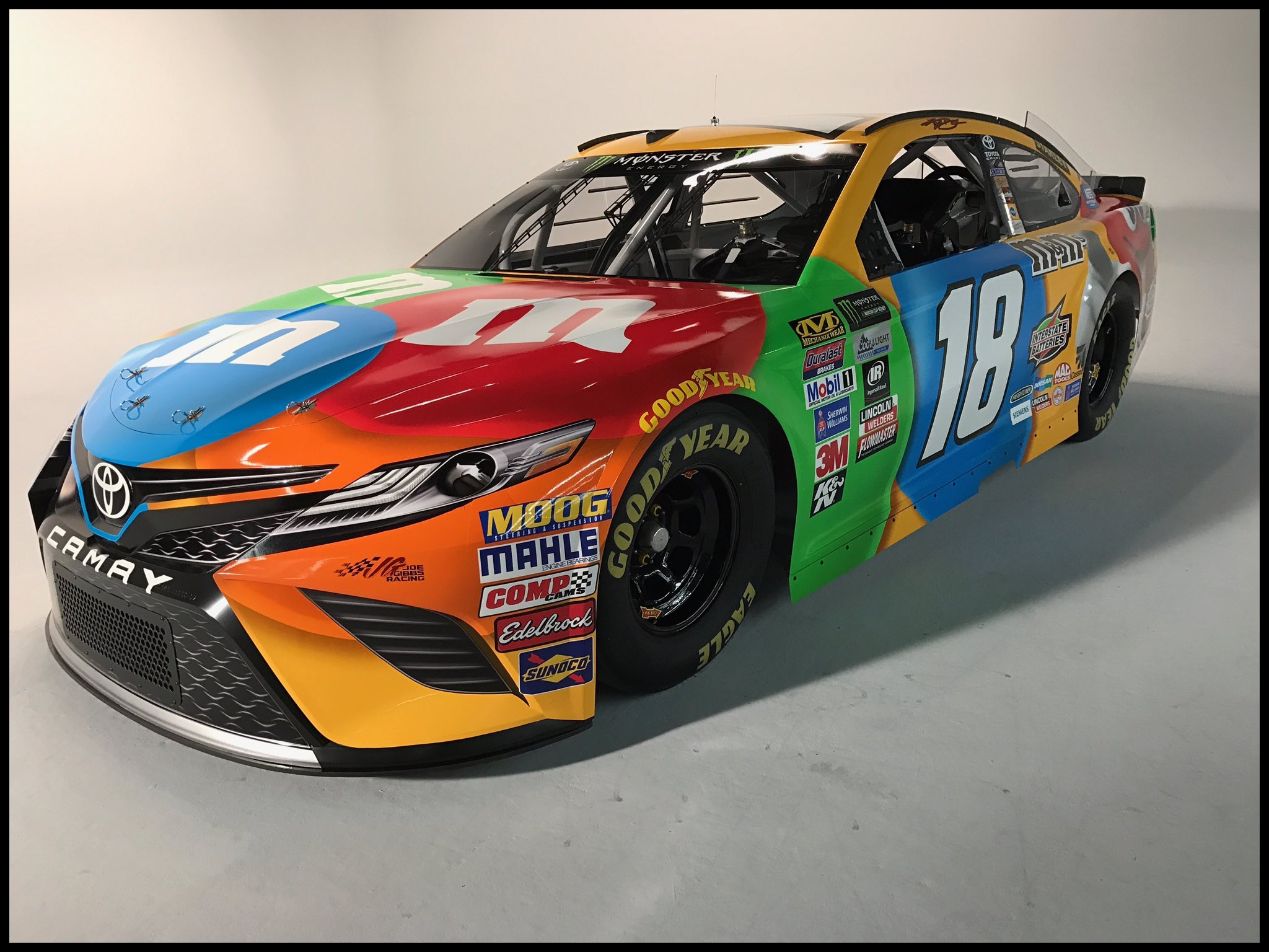 News 2018 Nascar toyota Camry Released Nascar Cup Series First Drive