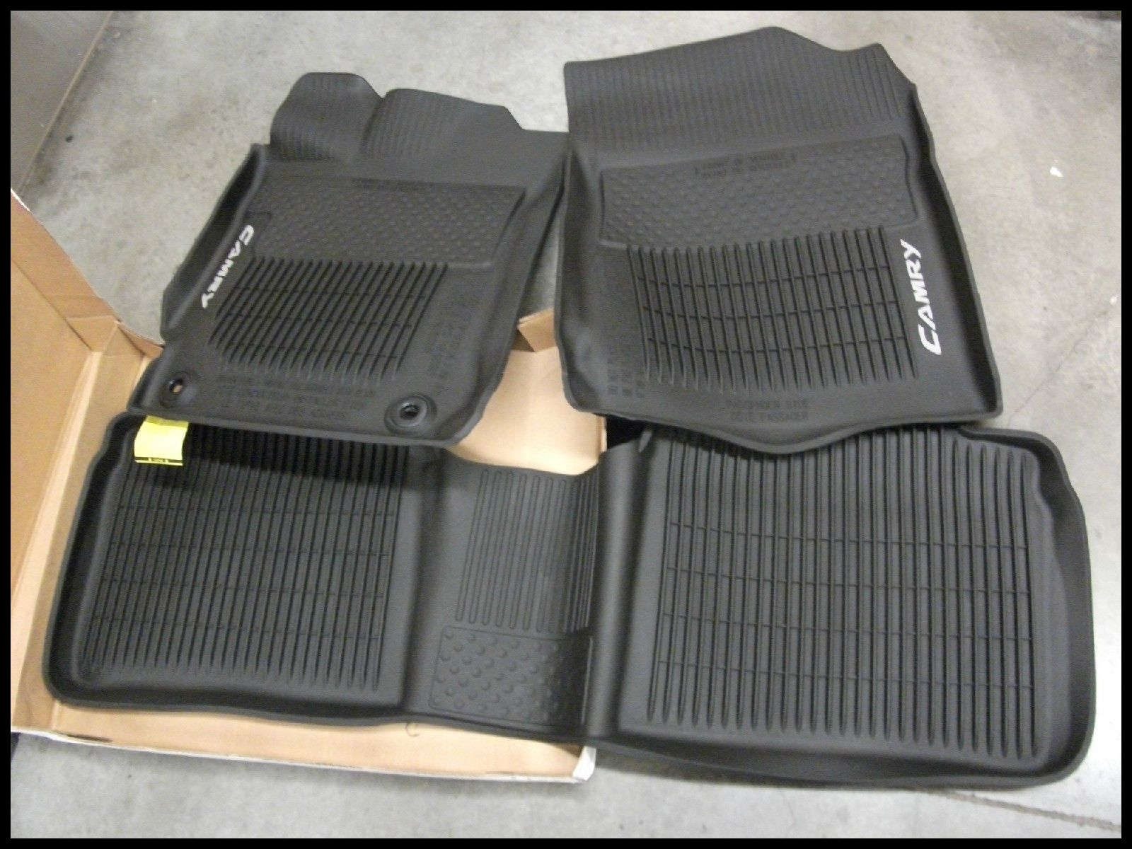 Awesome Awesome 15 16 TOYOTA CAMRY ALL WEATHER FLOOR MAT SET OEM PT908 20 2017 2018