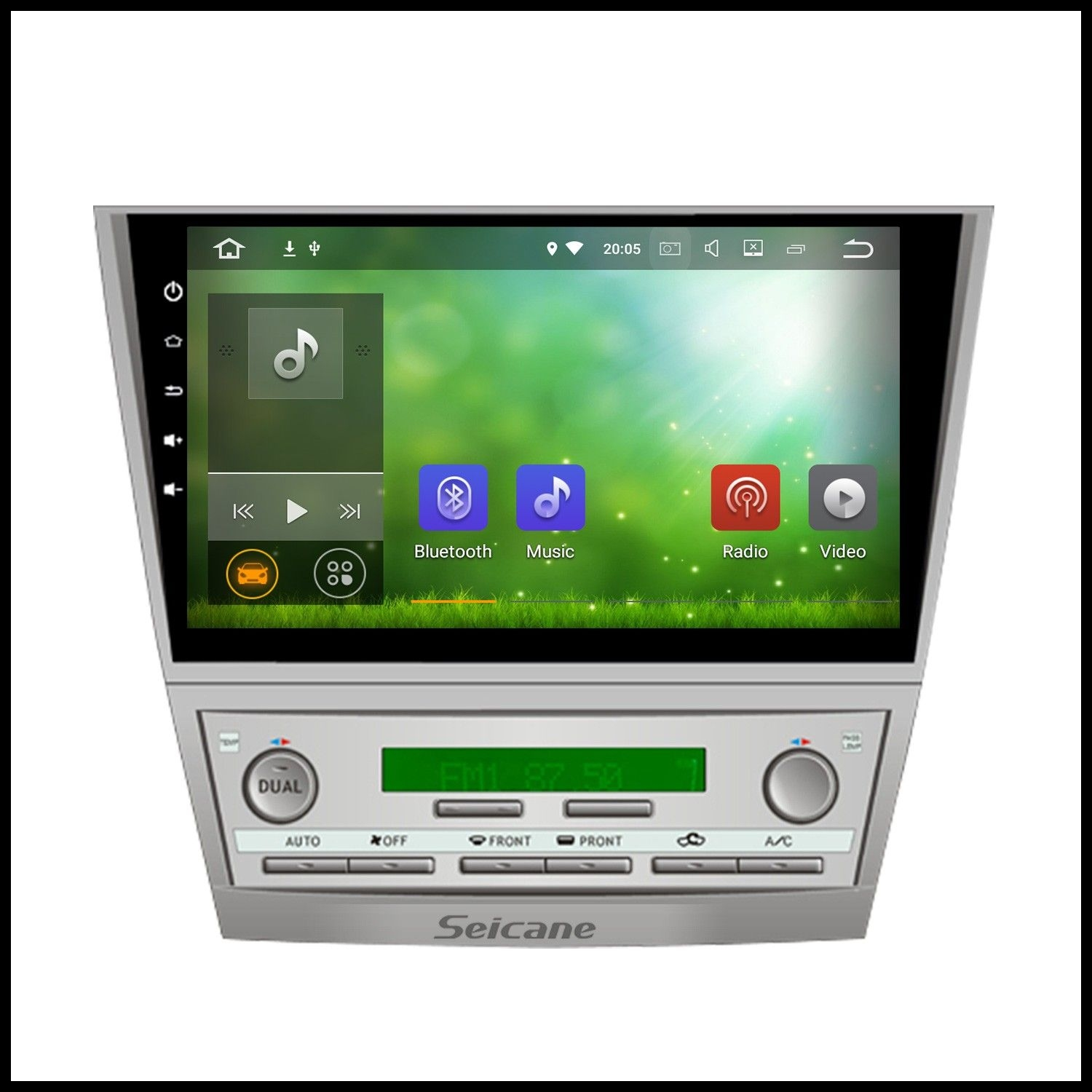 Seicane 10 2 inch 2007 2011 Toyota CAMRY Android 7 1 1024 600 Touchscreen Radio GPS Navigation Car stereo with Rearview Camera 4G WiFi Bluetooth Mirror Link