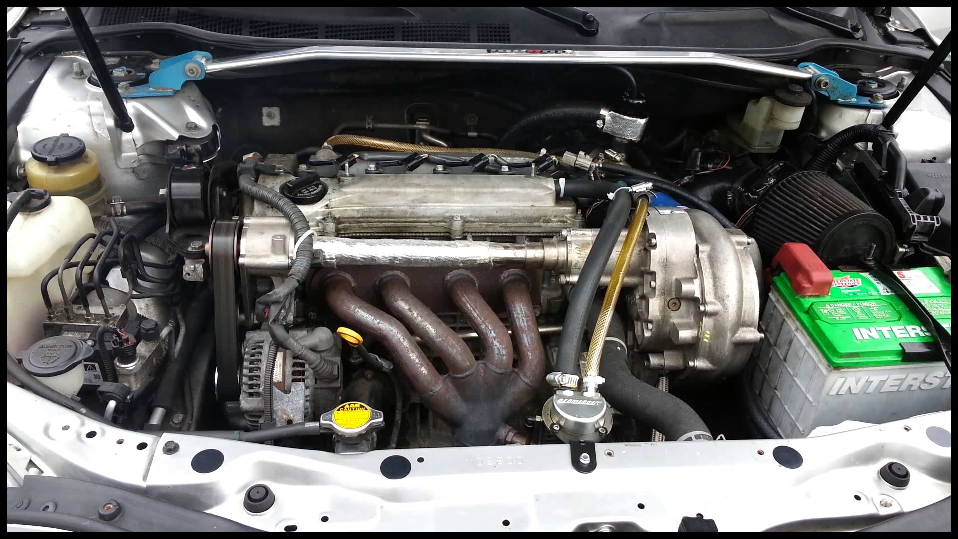Supercharged Camry