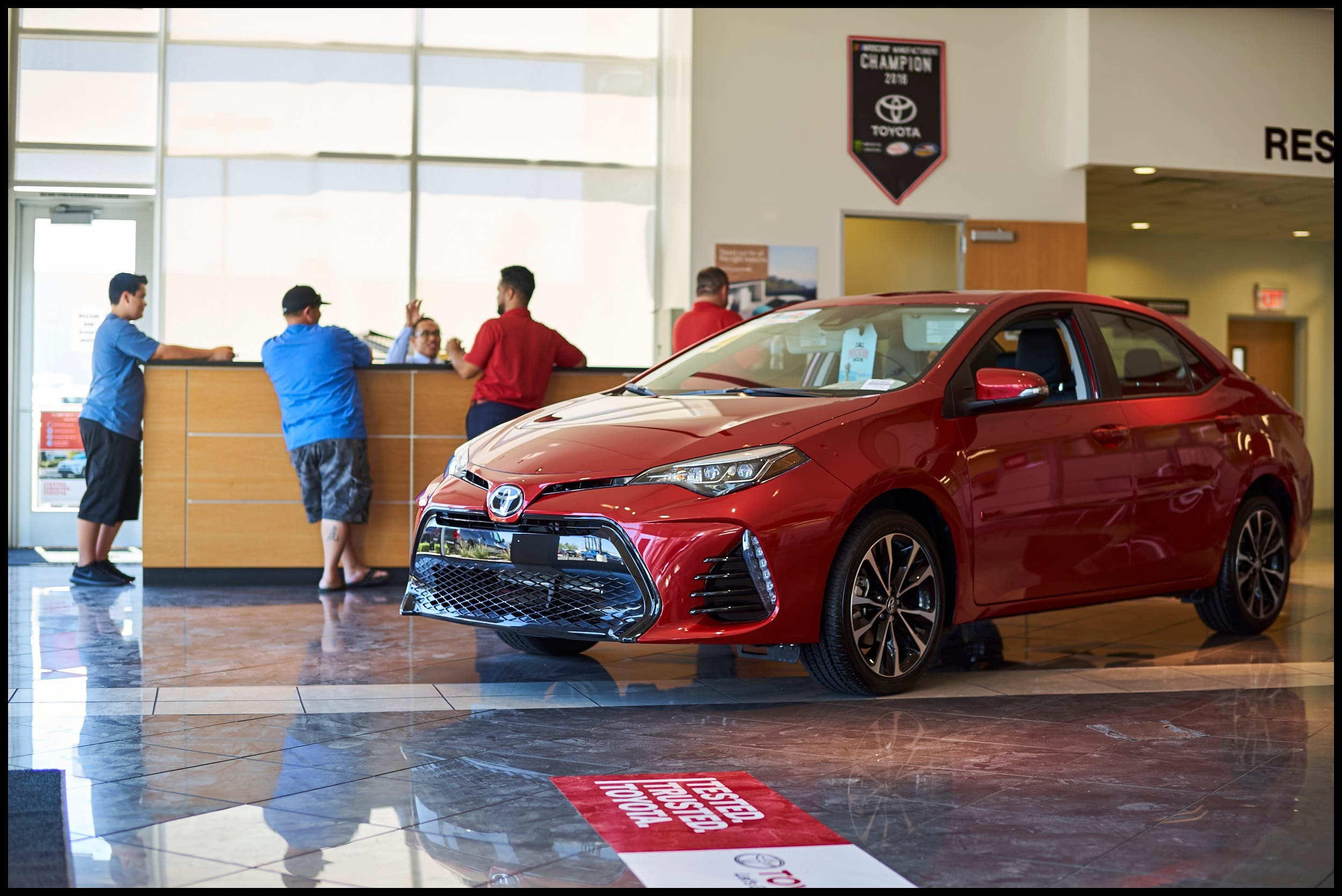 At AutoNation Toyota Las Vegas