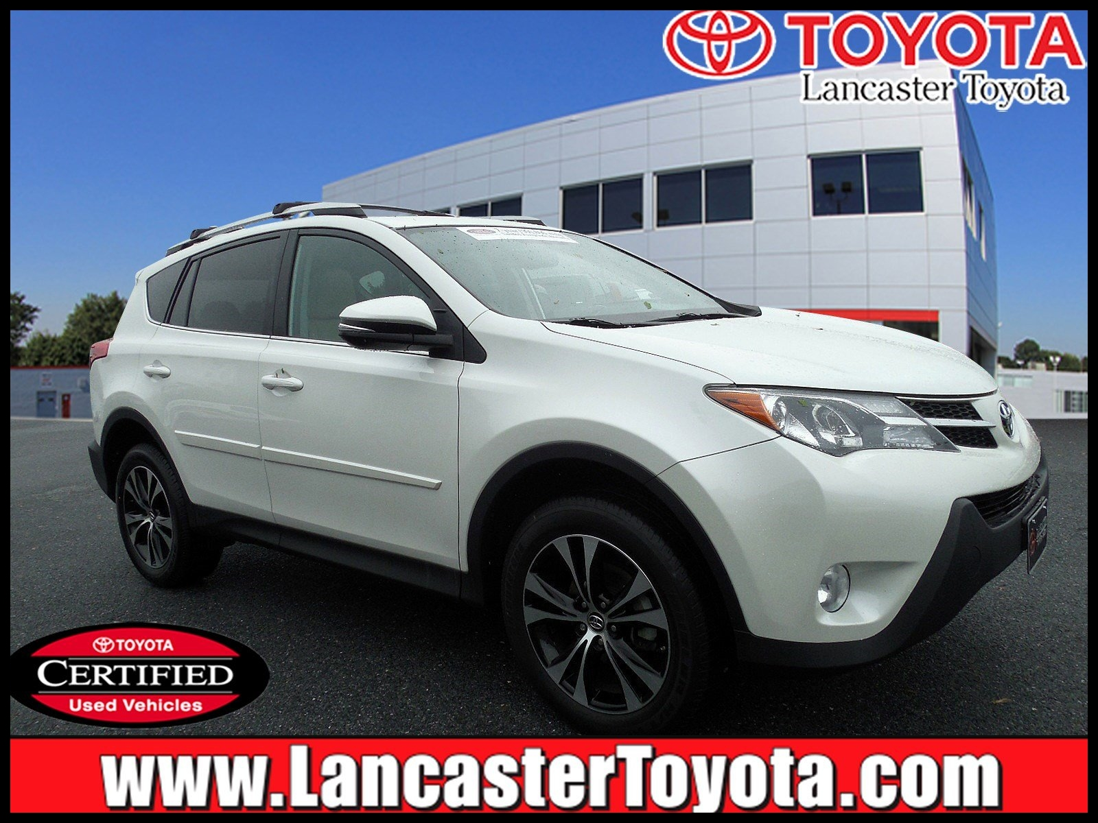 Certified Pre Owned 2015 Toyota RAV4 Limited