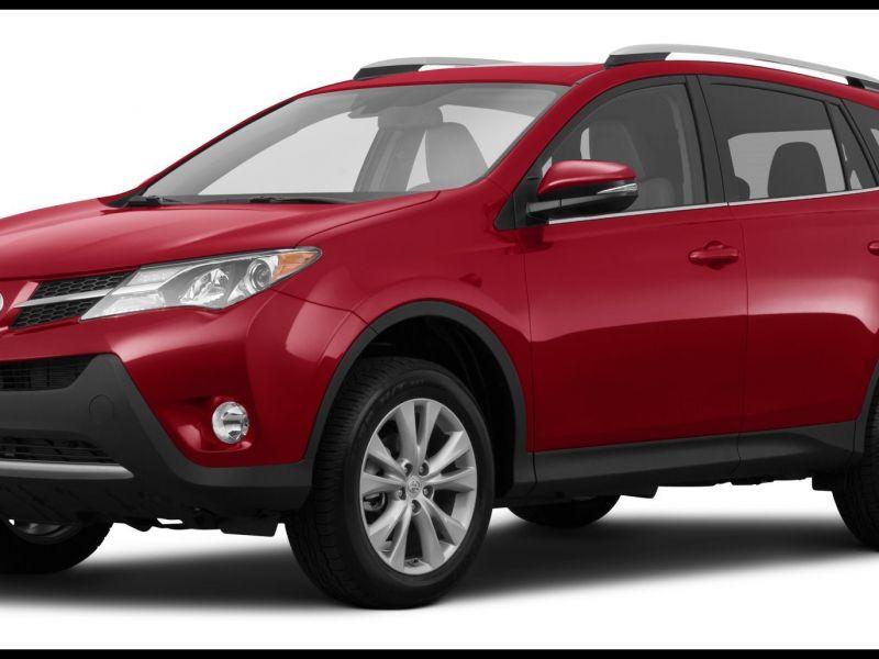 Toyota Rav4 2016 Wheel Size