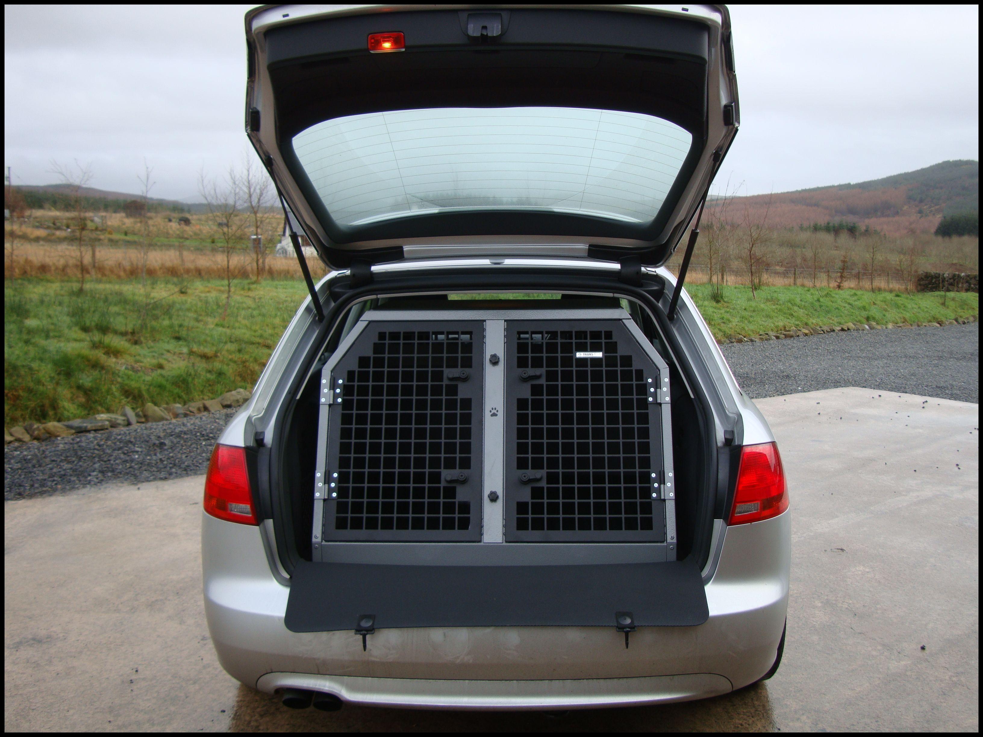 TransK9 B2 Audi A4 Avant Dog Cage Dog Crate Dog Transit Box