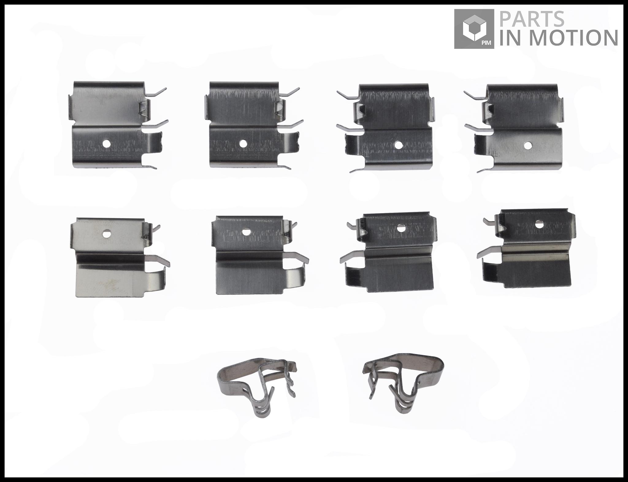 Image is loading Brake Pad Fitting Kit fits TOYOTA RAV 4
