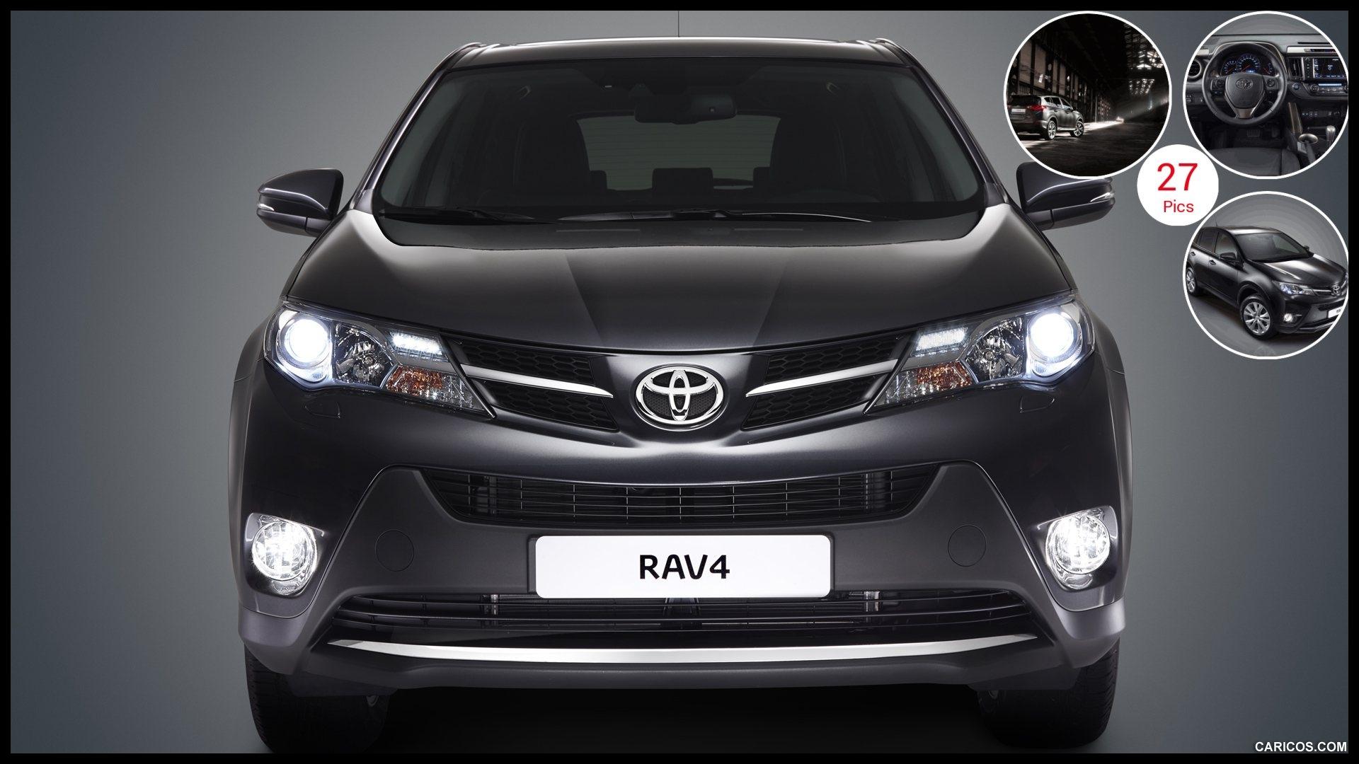 2013 Toyota RAV4 European Version Front Wallpaper