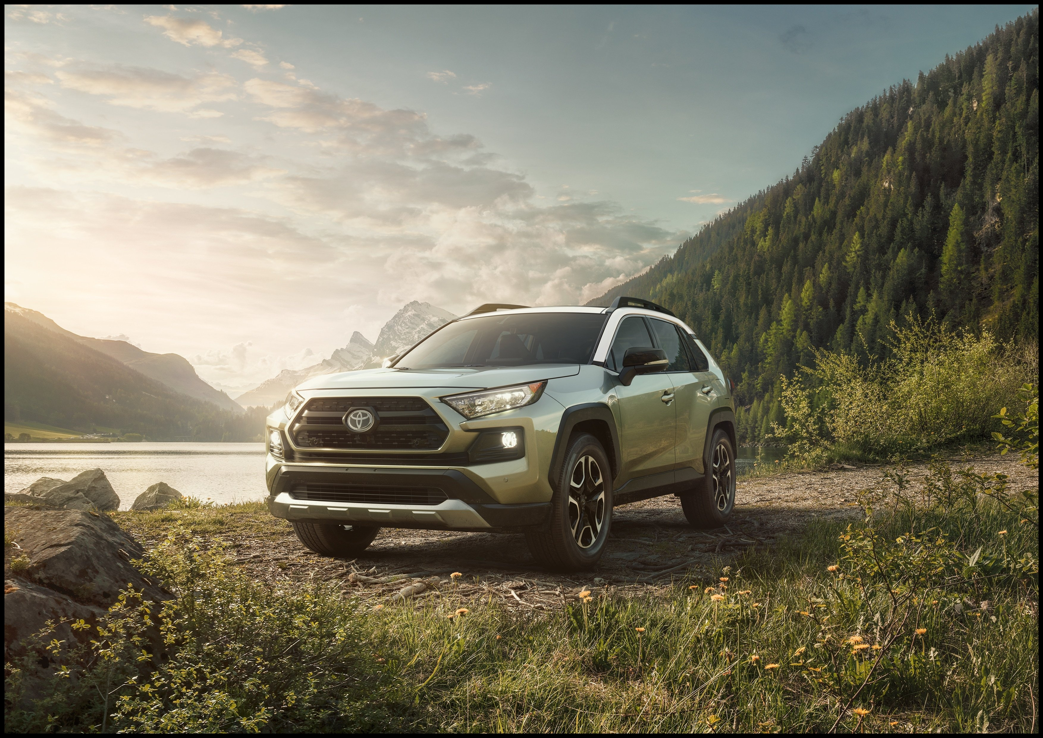 All New 2019 Toyota RAV4 Wins pact SUV of Texas at 2018 Texas Truck Rodeo