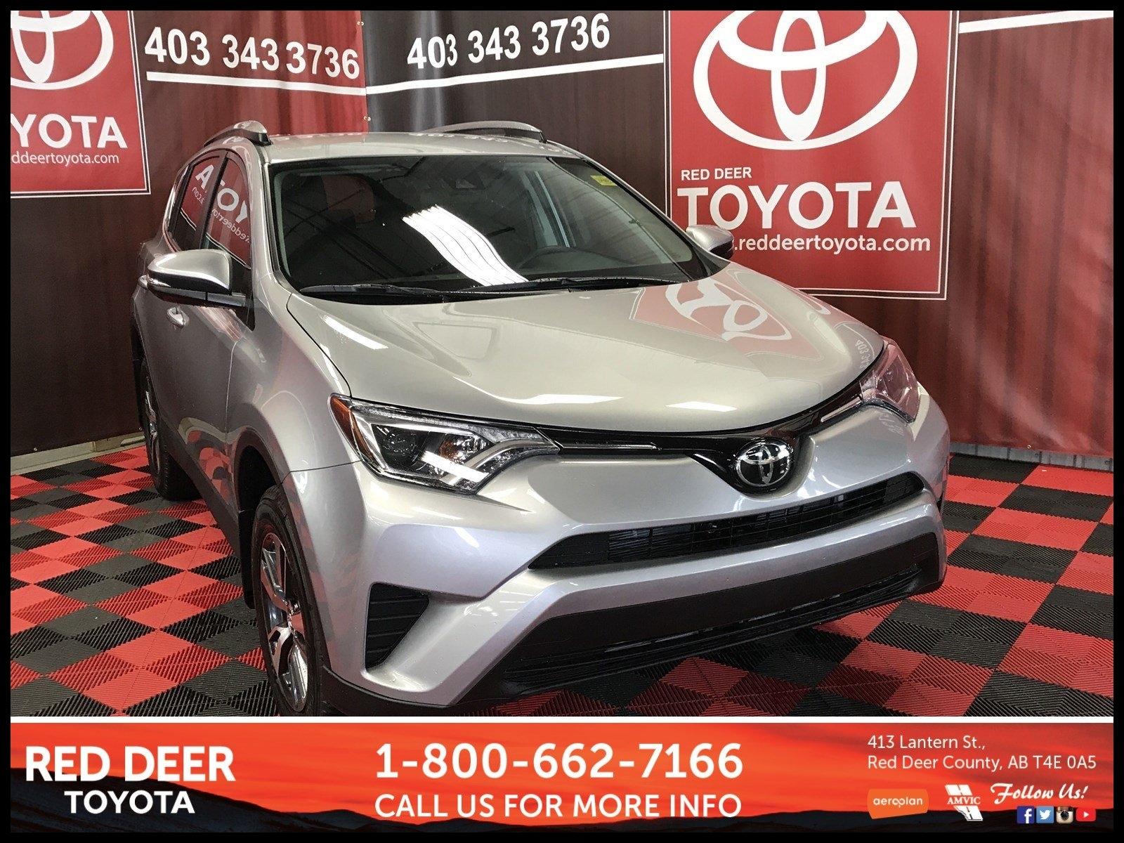New 2018 Toyota RAV4 LE