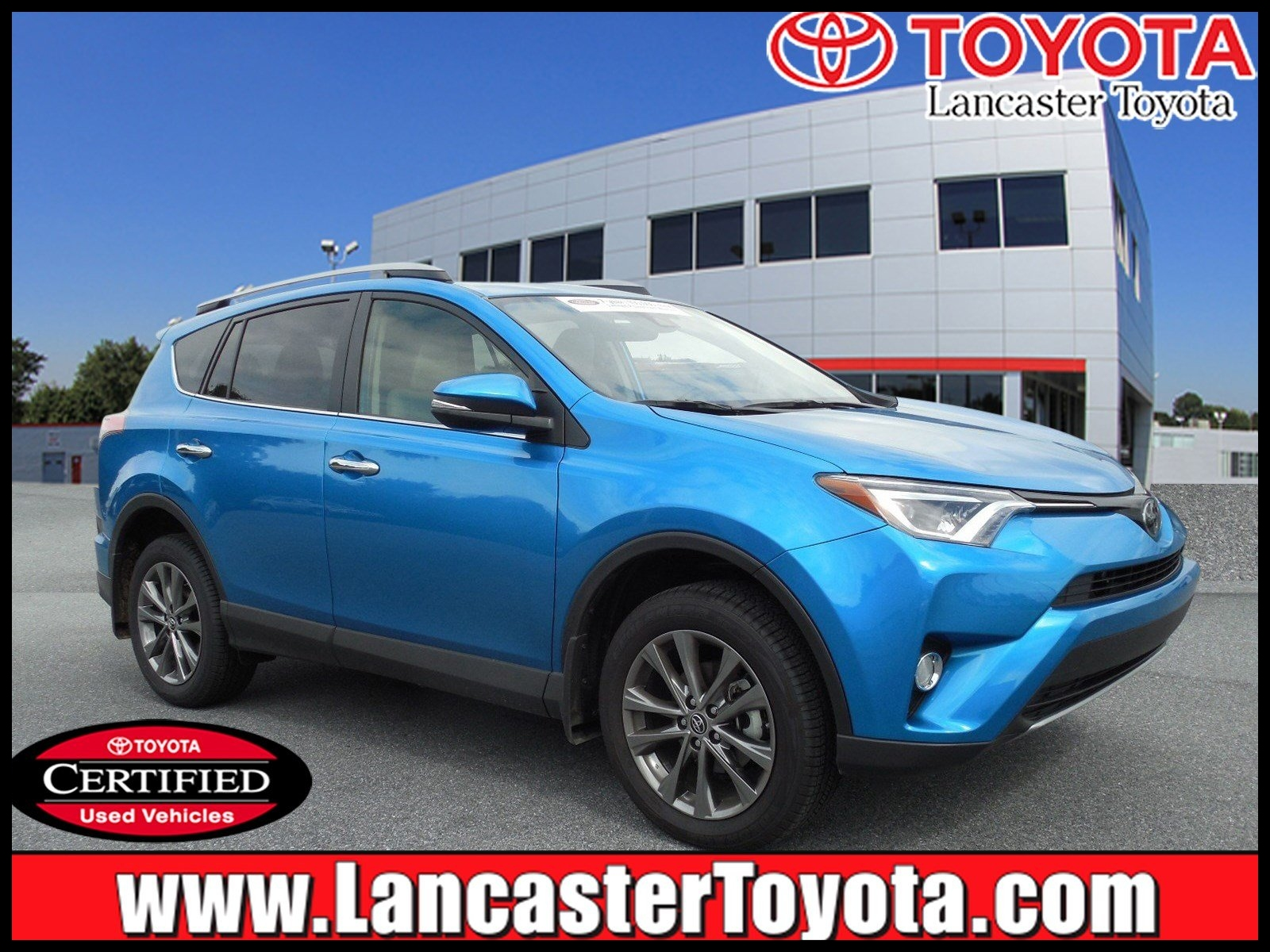 Certified Pre Owned 2018 Toyota RAV4 Limited