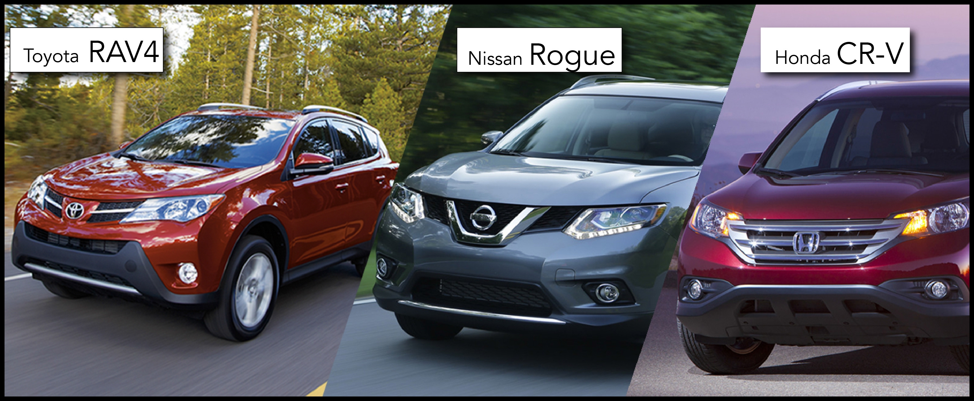 Top Honda Crv Vs Nissan Rogue the toyota Rav4 Vs the Honda Cr V and the