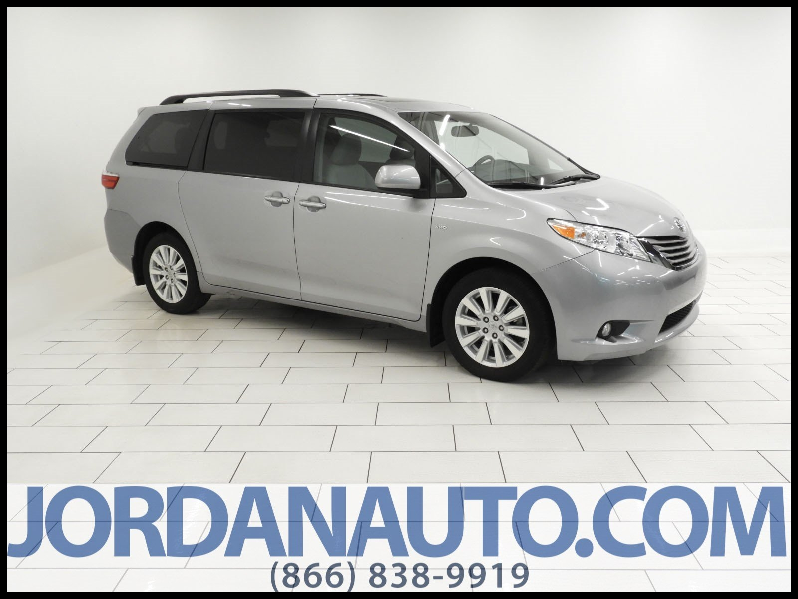 Certified Pre Owned 2017 Toyota Sienna