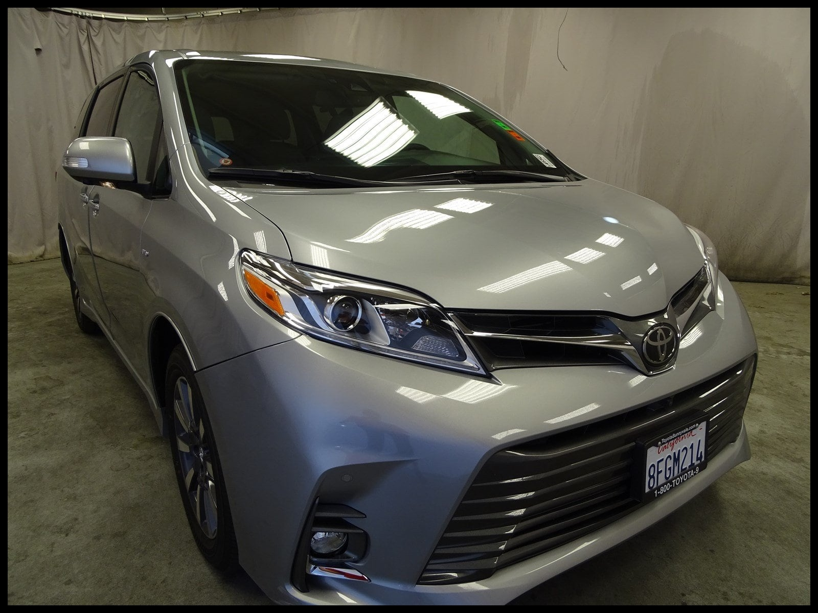 Used 2018 Toyota Sienna Limited Premium 7 Passenger Van Passenger Van Sunnyvale CA