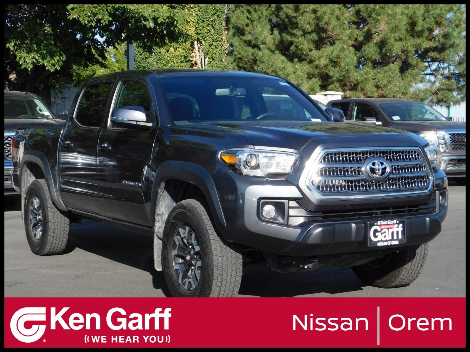 Pre Owned 2017 Toyota Ta a TRD OFF ROAD DOUBLE CAB 5 BED V6 4X4