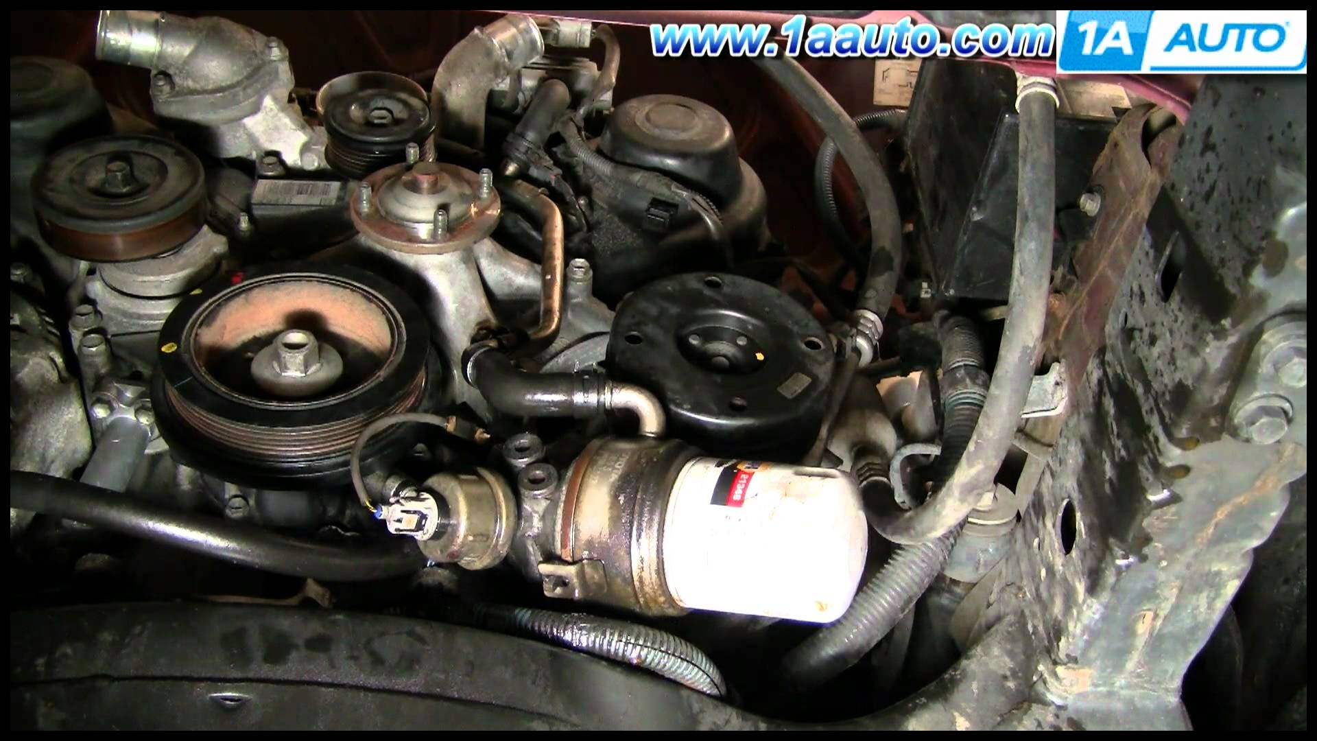 How To Replace Toyota Tundra Timing Belt 2002 V8 Disassemble Front of Engine PART 3 1AAuto