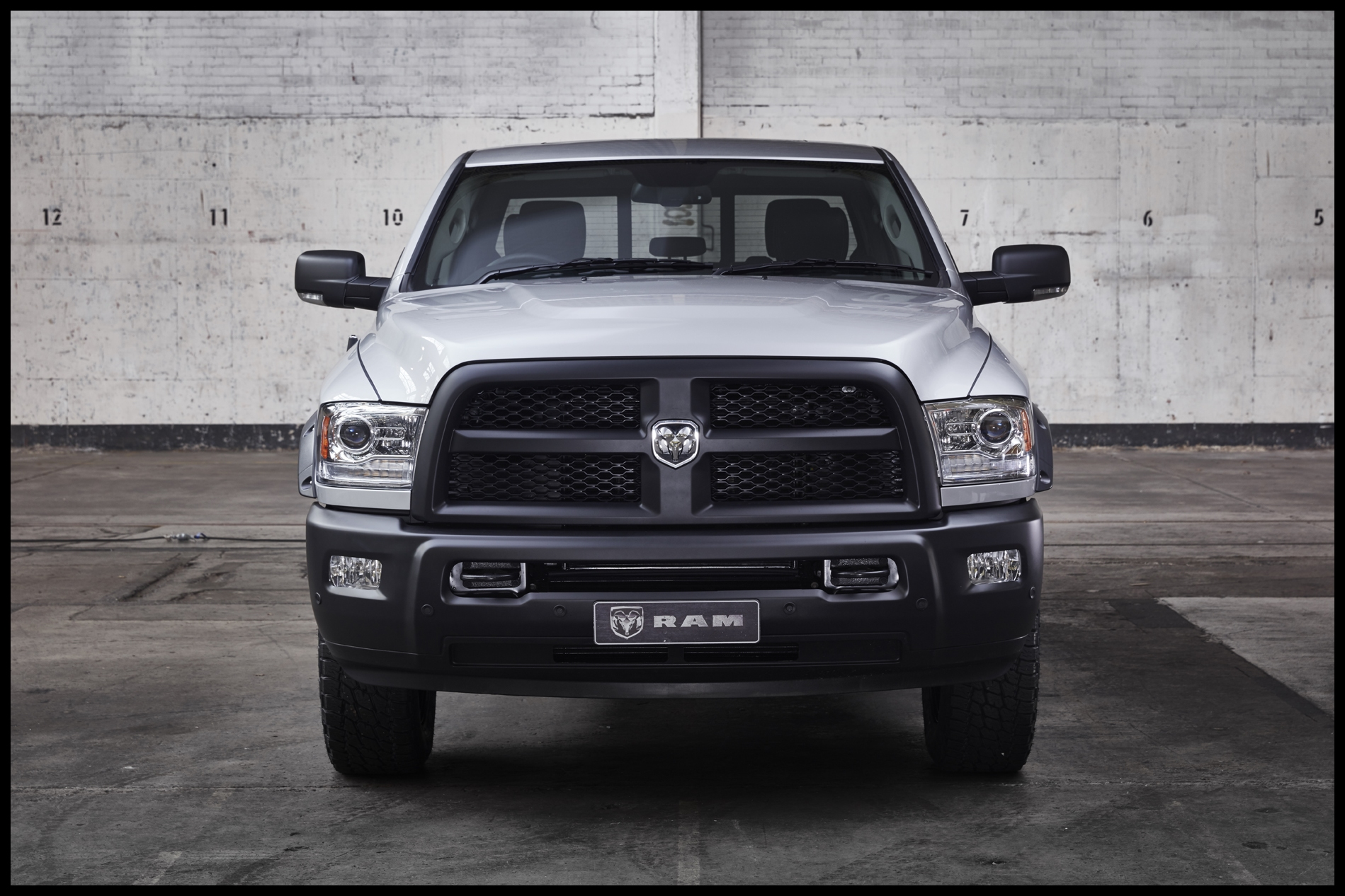 The Ram 2500 Code Black does pull off the look but those bolt