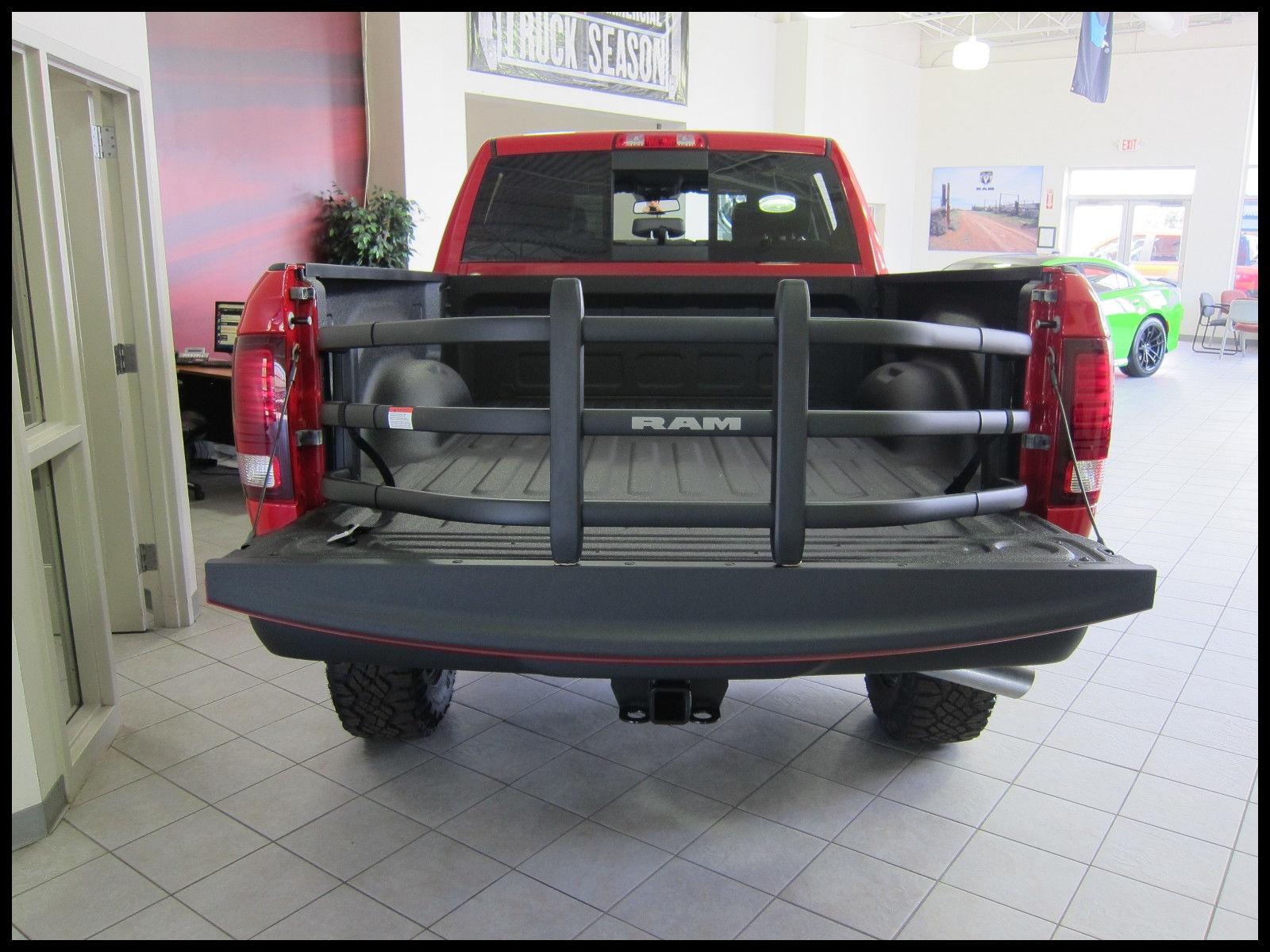 2019 RAM 1500 2500 3500 Black Tailgate Bed Extender w RAM logo MOPAR OEM