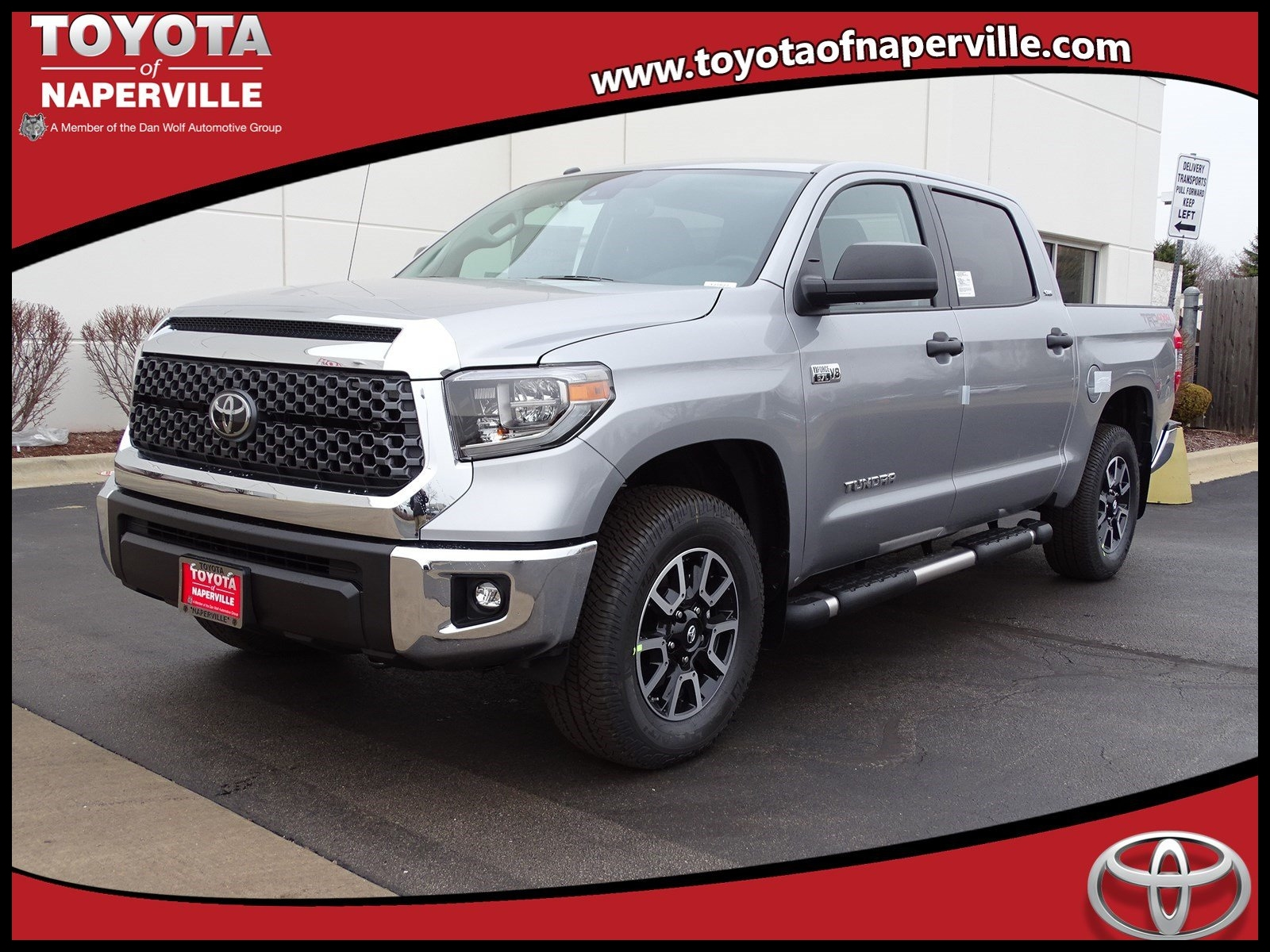New 2018 toyota Tundra Sr5 4d Crewmax In Naperville T Price
