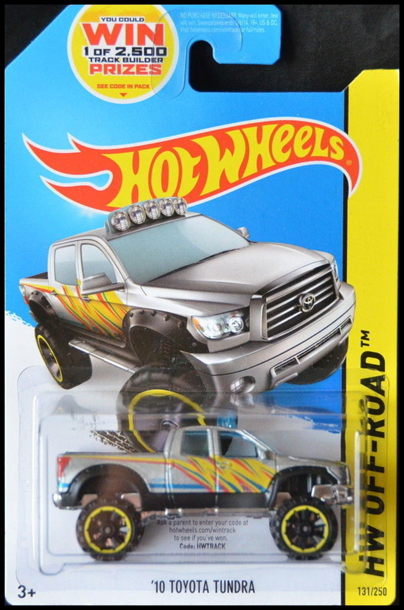 Amazon HOT WHEELS 2014 RELEASE SILVER 2010 TOYOTA TUNDRA DIE CAST PICK UP TRUCK HOT WHEELS 2010 TOYOTA TUNDRA Toys & Games