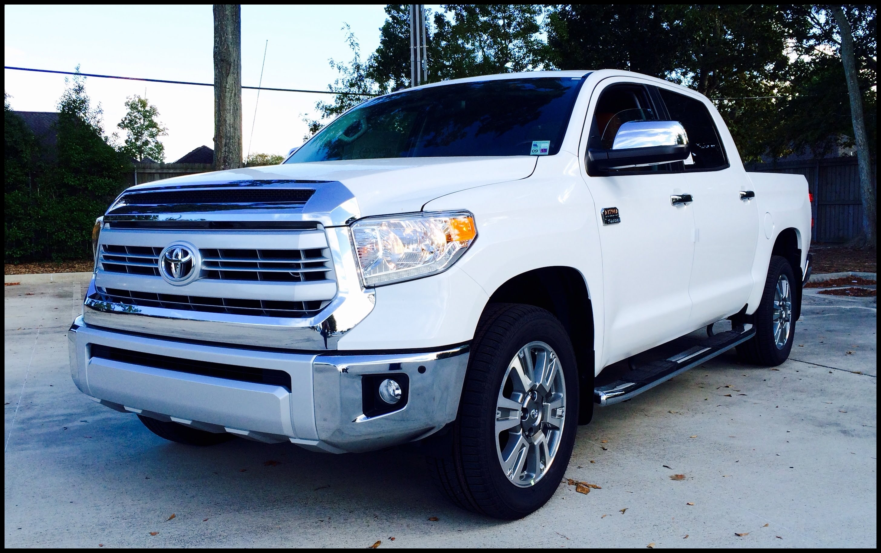 2015 2016 Toyota Tundra CrewMax 4x2 1794 Edition 5 7L V8 Full Review Start Up Exhaust