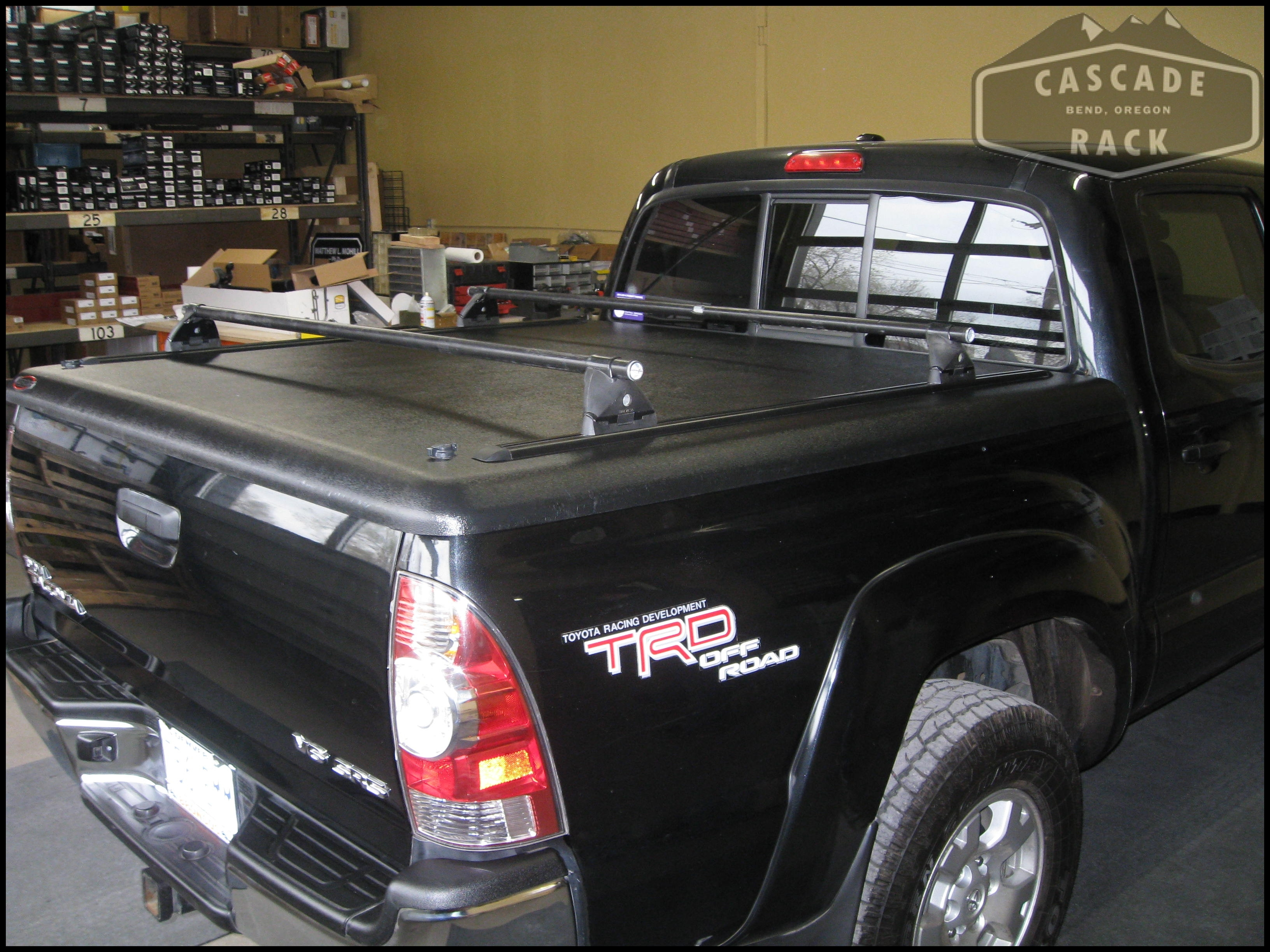 Full Image for Toyota Truck Bed Cover 76 Toyota Pickup Truck Bed Covers Cascade Rack Installation