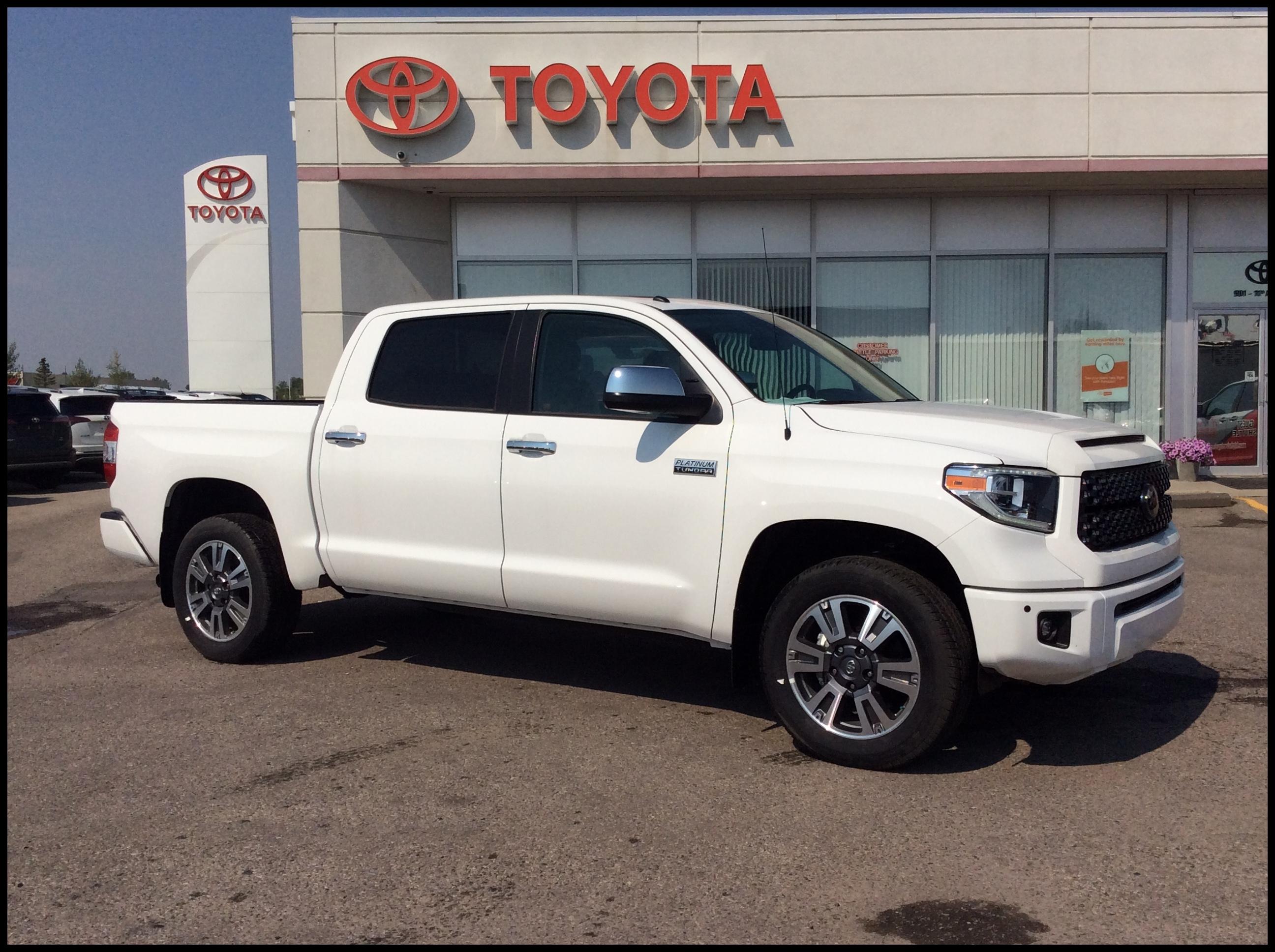 2018 Toyota Tundra 4x4 Crewmax Platinum 5 7L