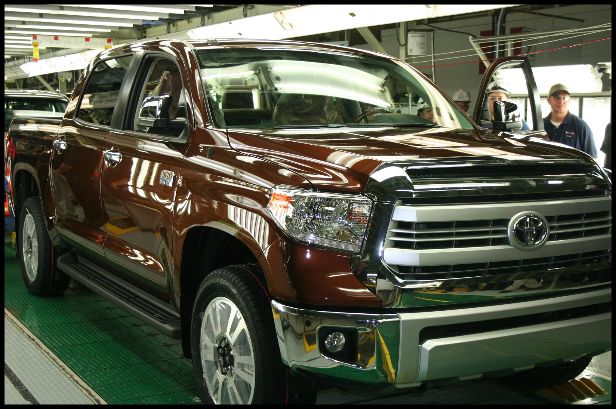 Toyota Celebrates e Millionth Texas Built Truck