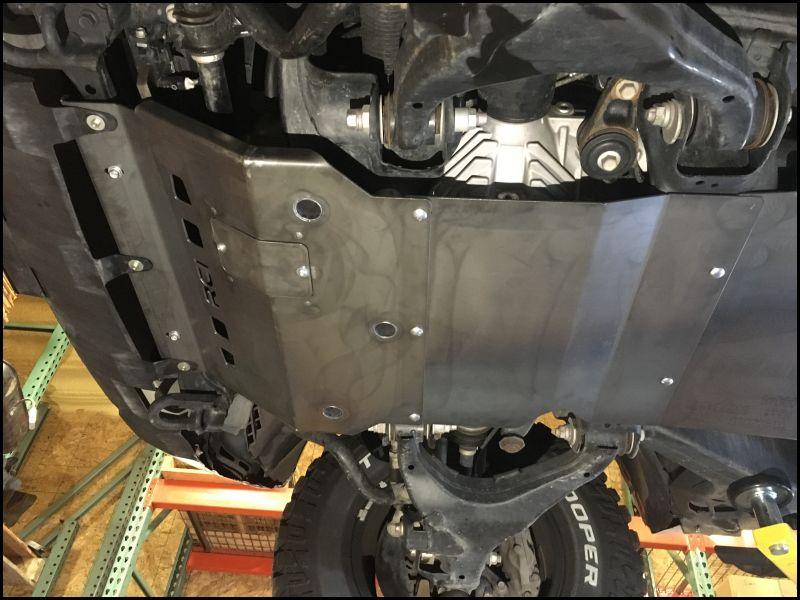 Toyota Tundra Skid Plate Bolts