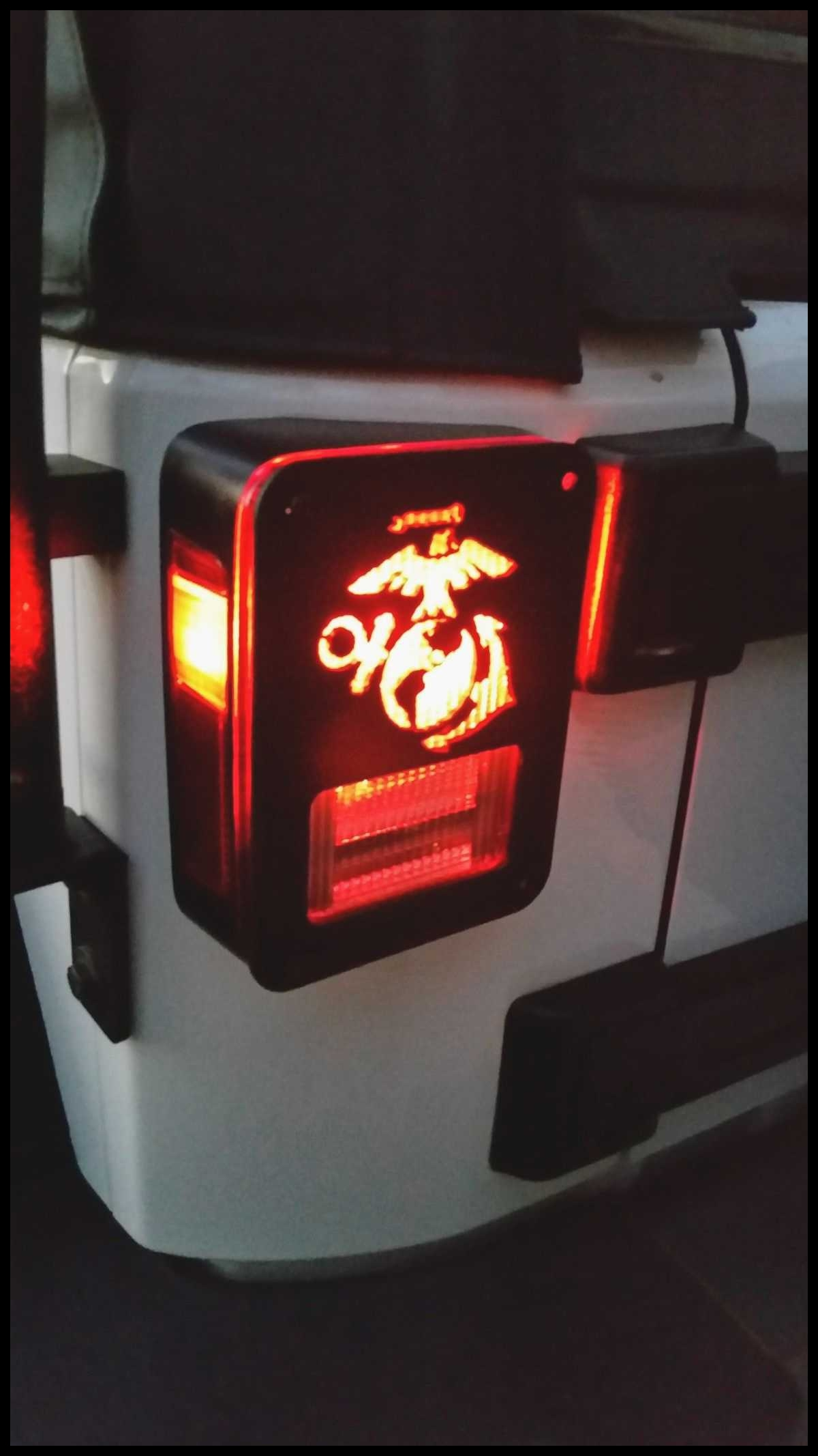 Elegant Jeep Tail Lights