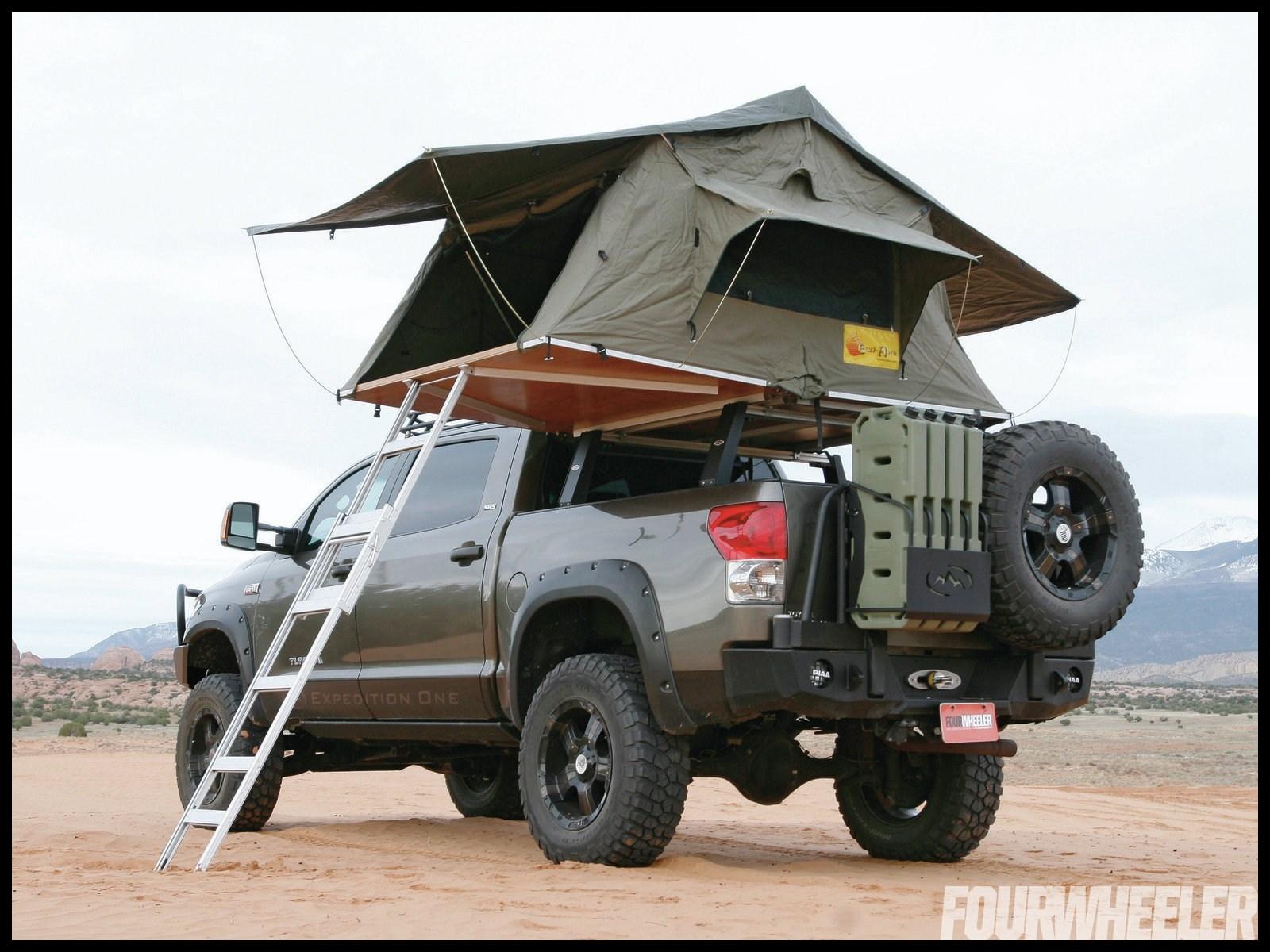 Toyota tundra crewmax truck tent