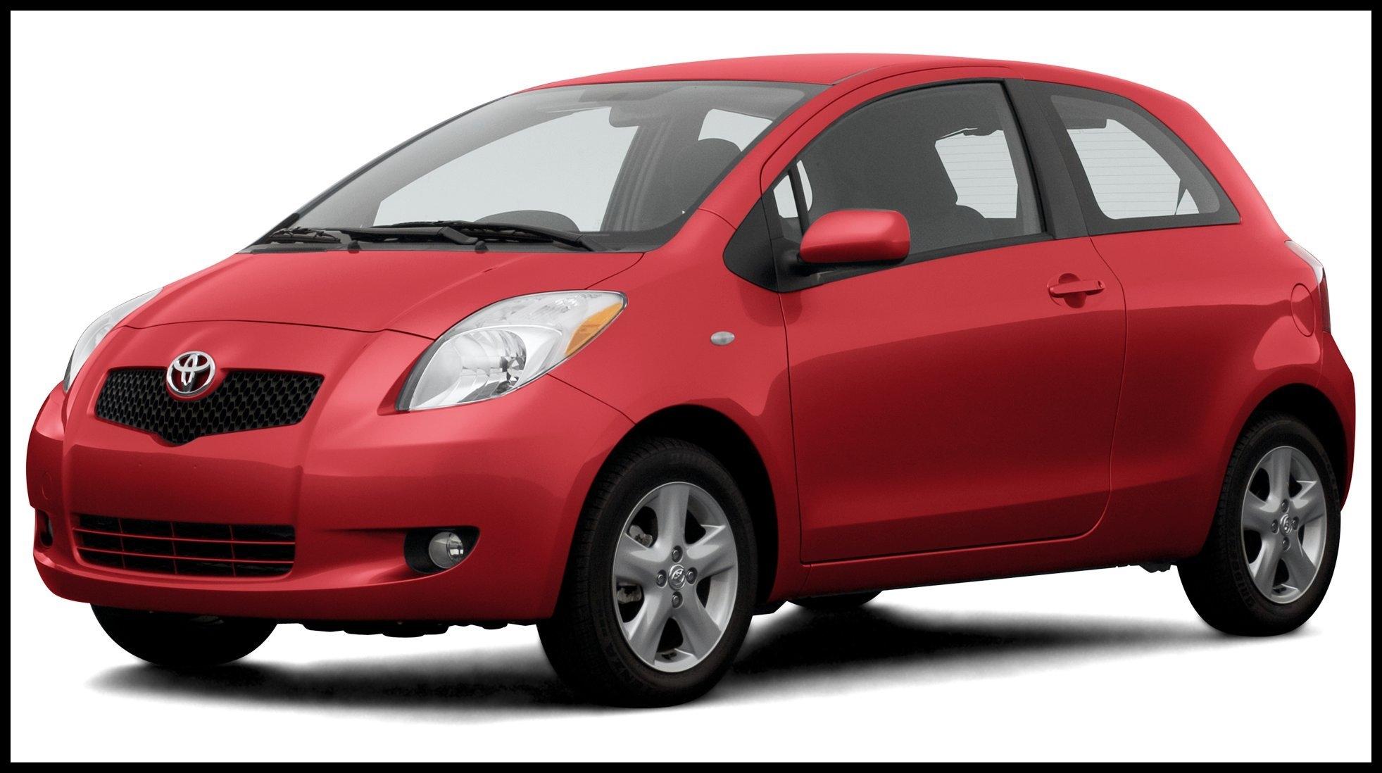 2007 Toyota Yaris 3 Door Hatchback Automatic Transmission GS