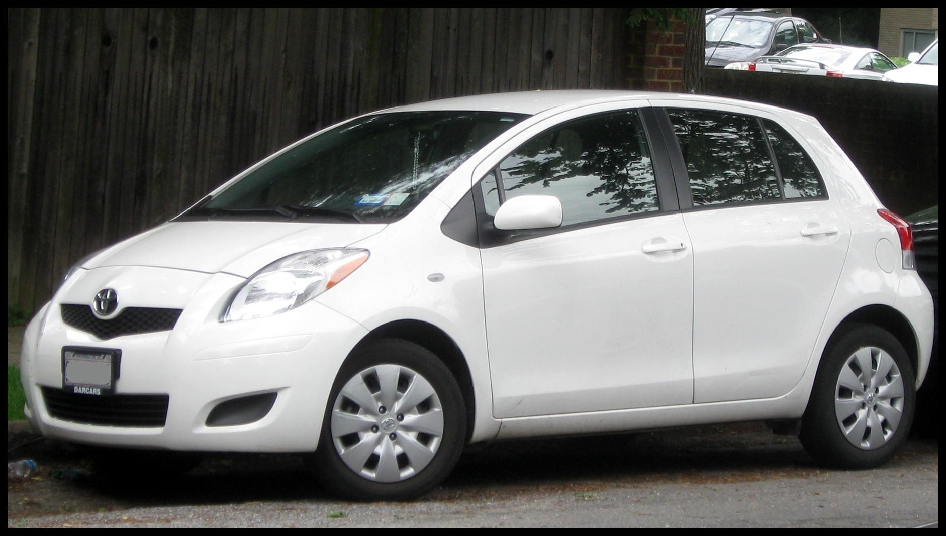 2009 2011 Toyota Yaris 5 door 05 28 2011