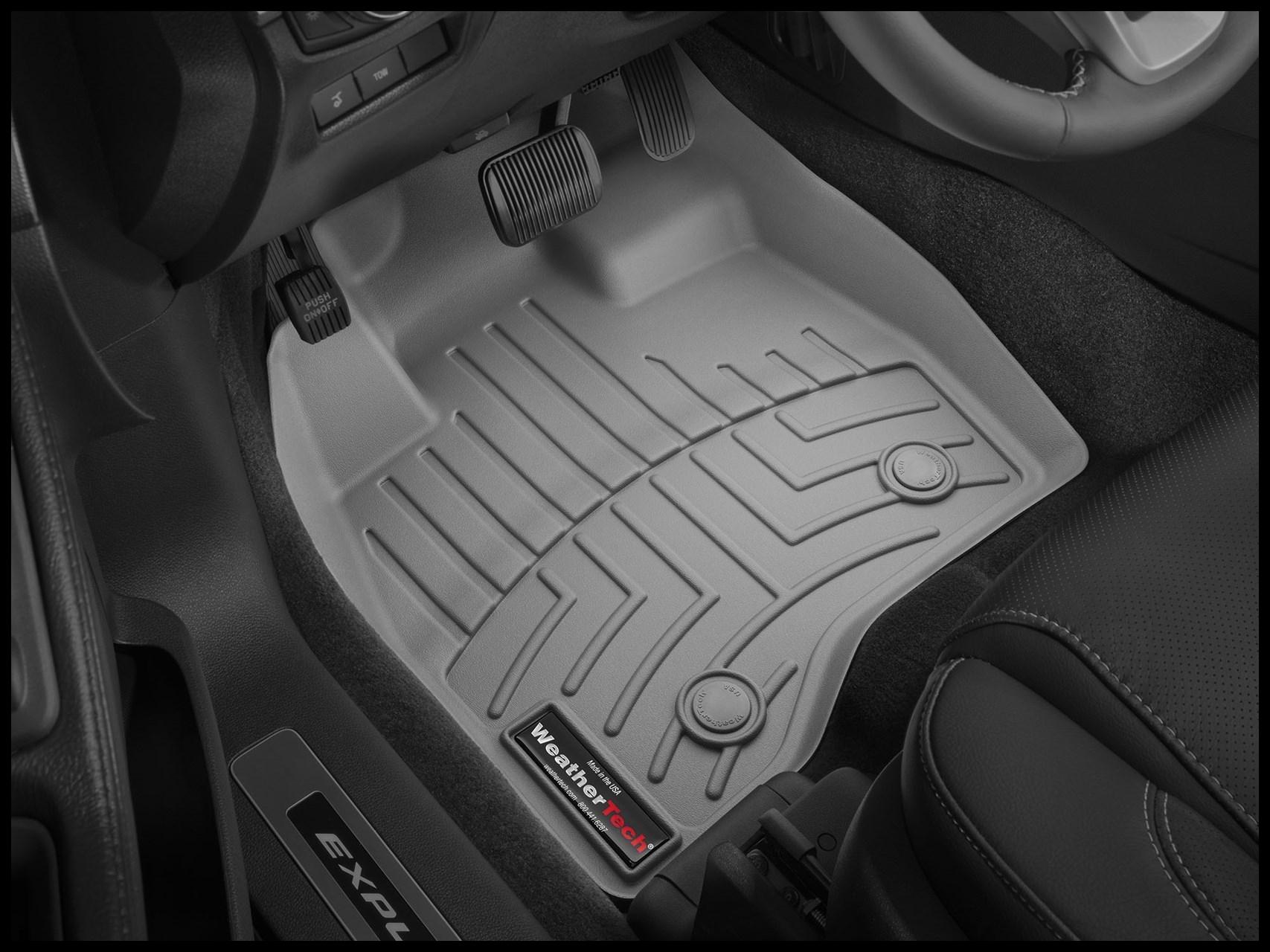 2018 Toyota Land Cruiser 150 All Weather Car Mats All Season flexible rubber floor mats