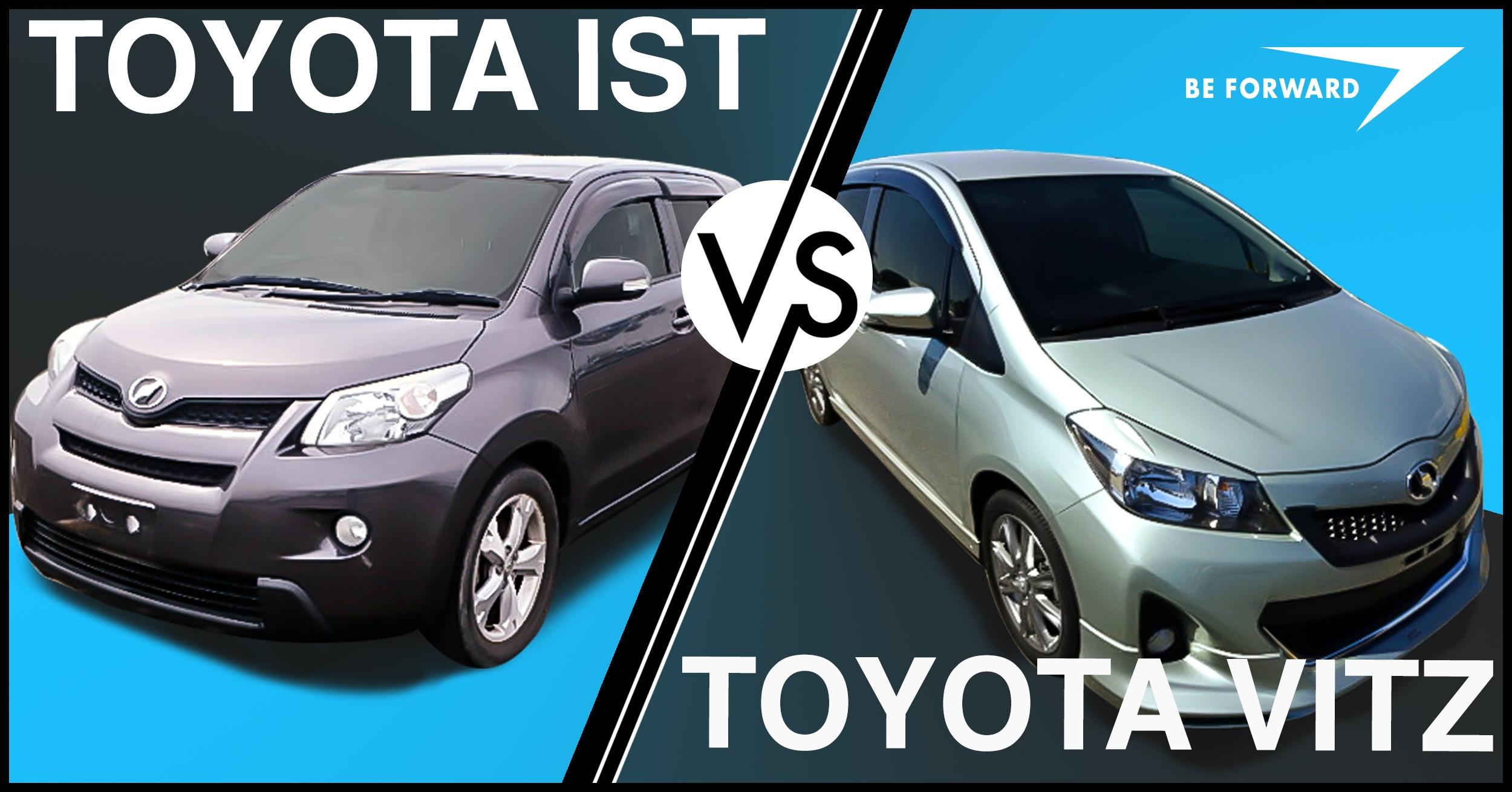 90 Toyota IST vs Toyota Vitz