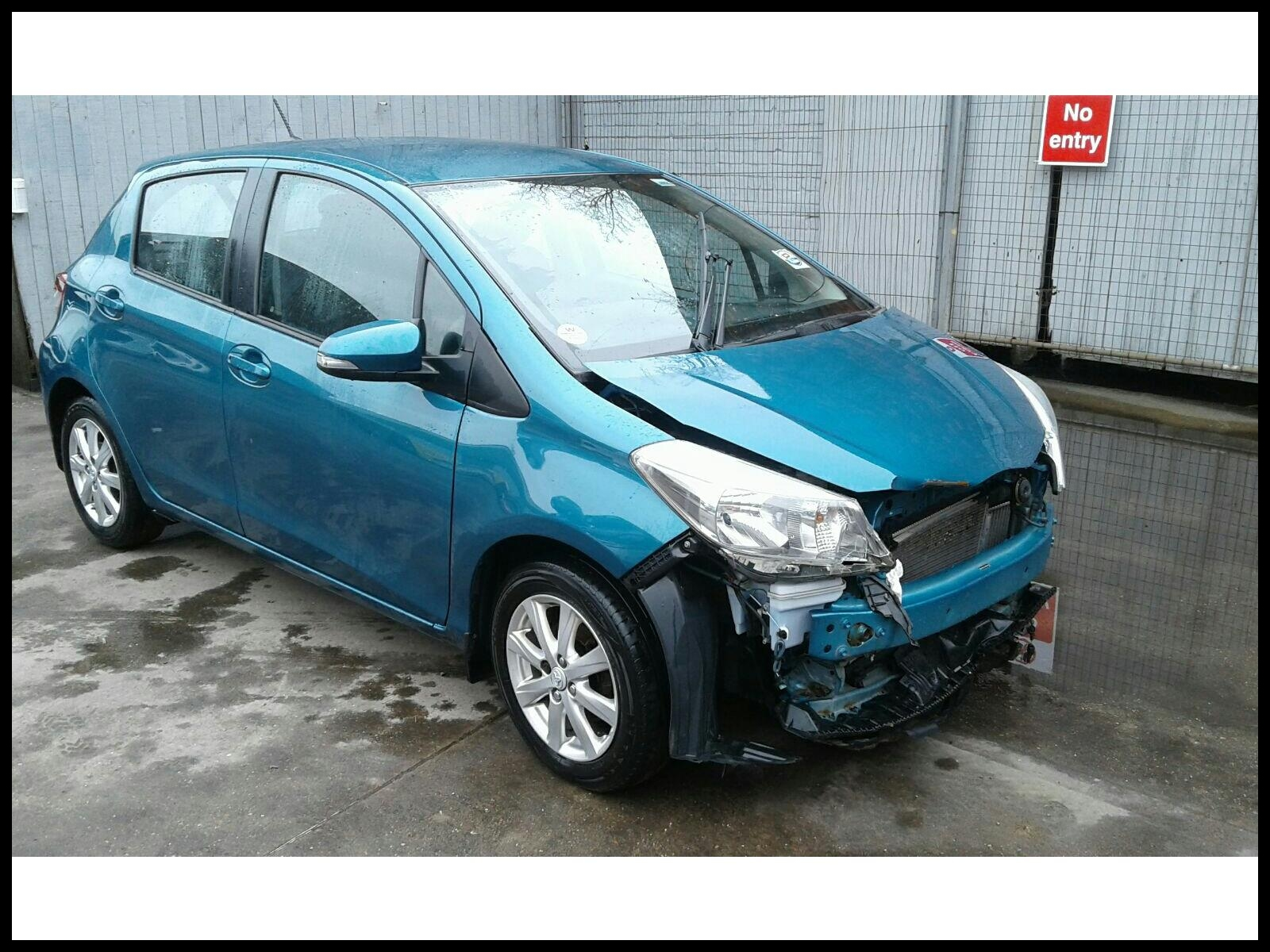 Toyota Yaris 2011 To 2014 5 Door Hatchback
