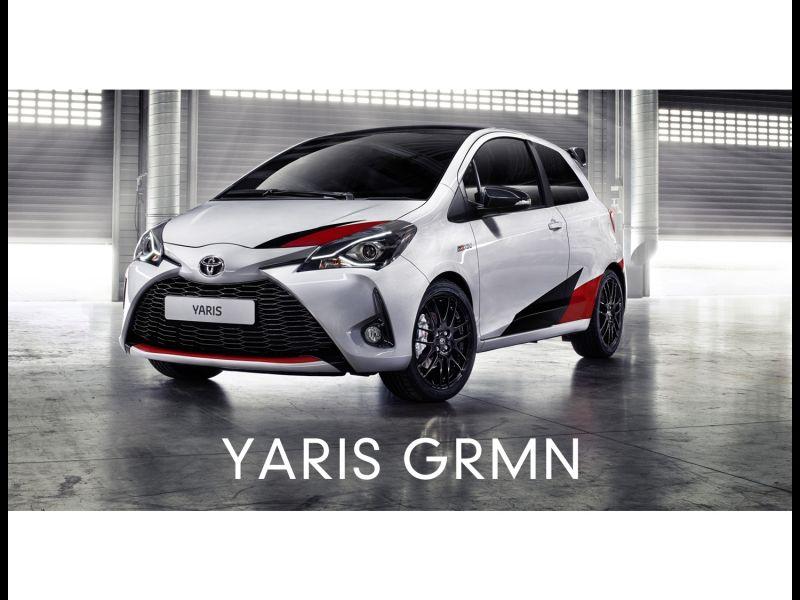 Toyota Yaris Race Car