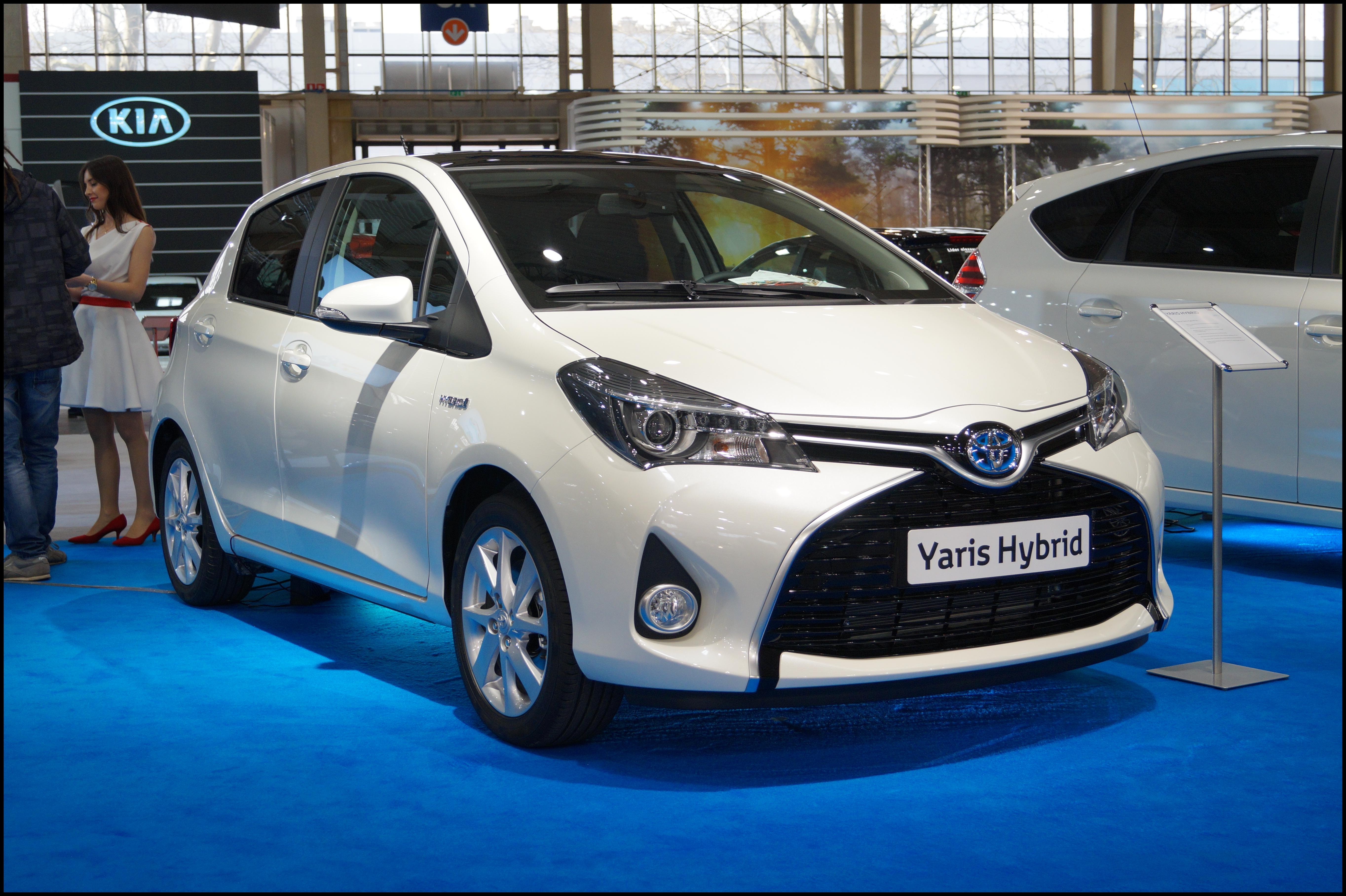 Toyota Yaris III po pierwszym liftingu