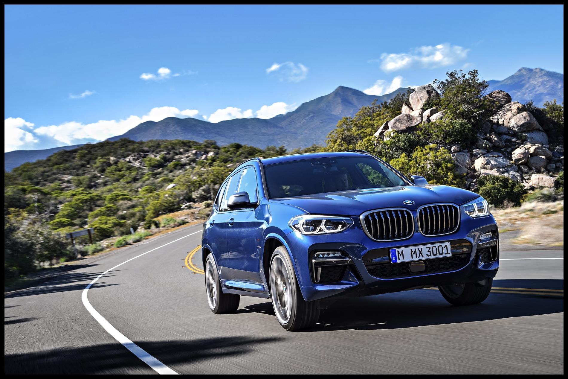 BMW X3 M40d 01