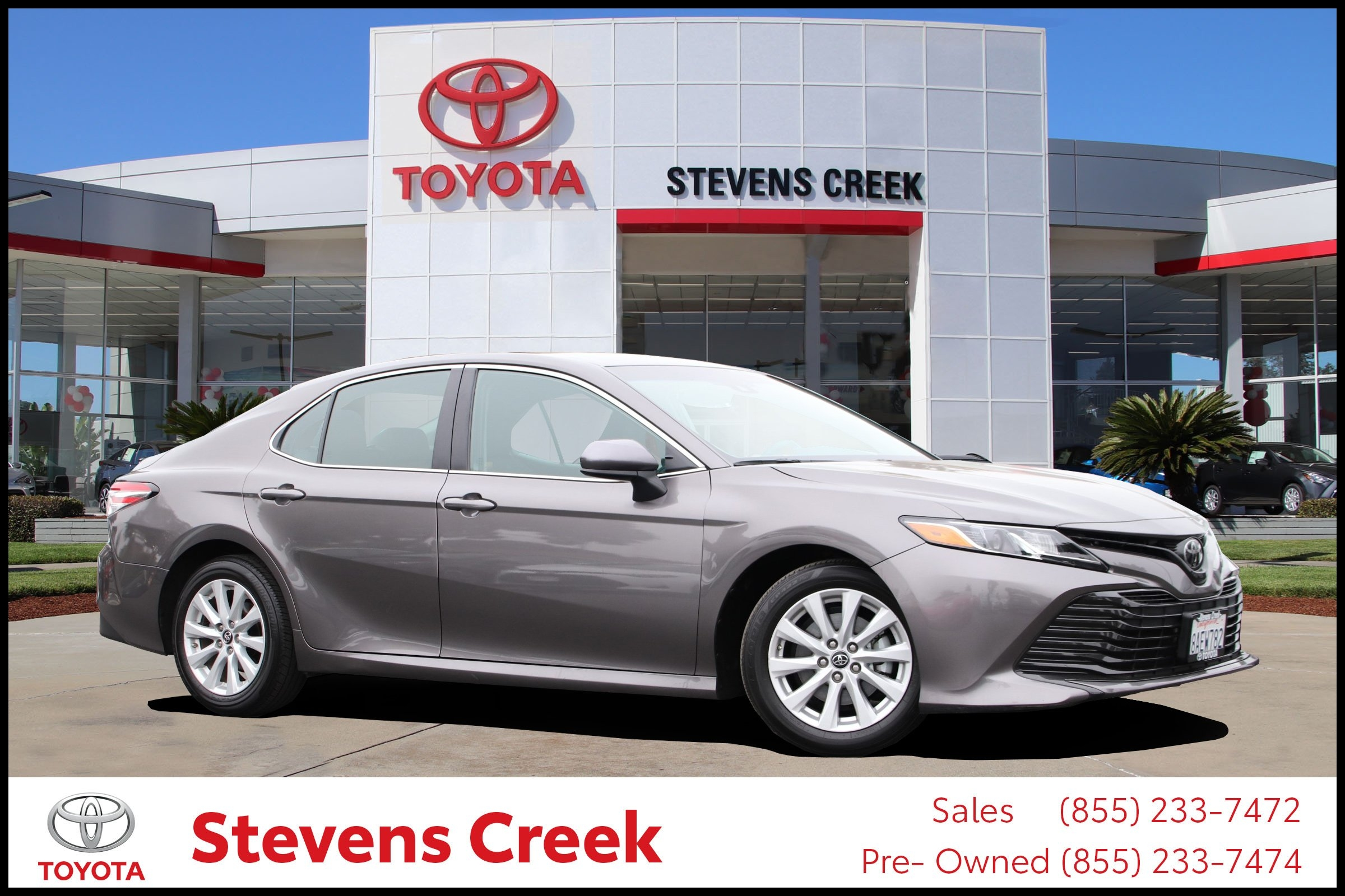Certified Pre Owned 2018 Toyota Camry LE