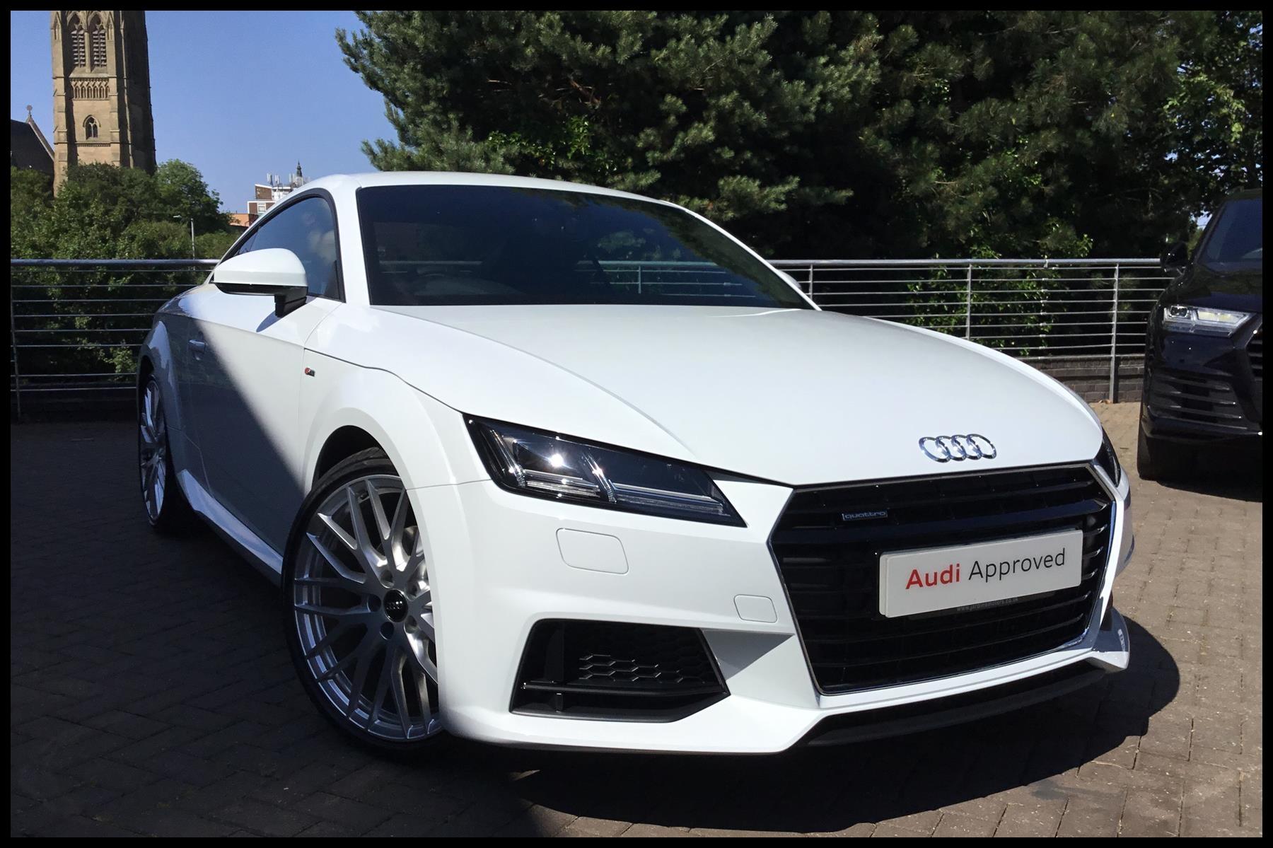 Audi TT Coup S line 2 0 TFSI quattro 230 PS S tronic 2018