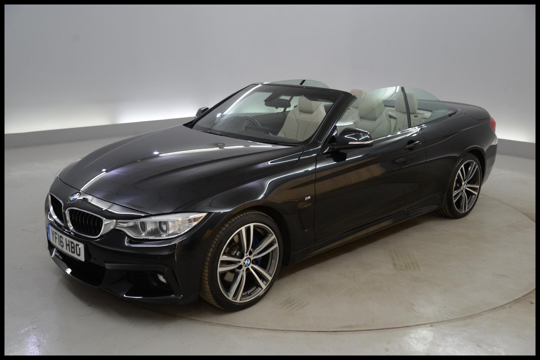 Used 2016 BMW 4 Series 420d [190] M Sport 2dr Auto [Professional Media] HEATED LEATHER PADDLE for sale in Surrey