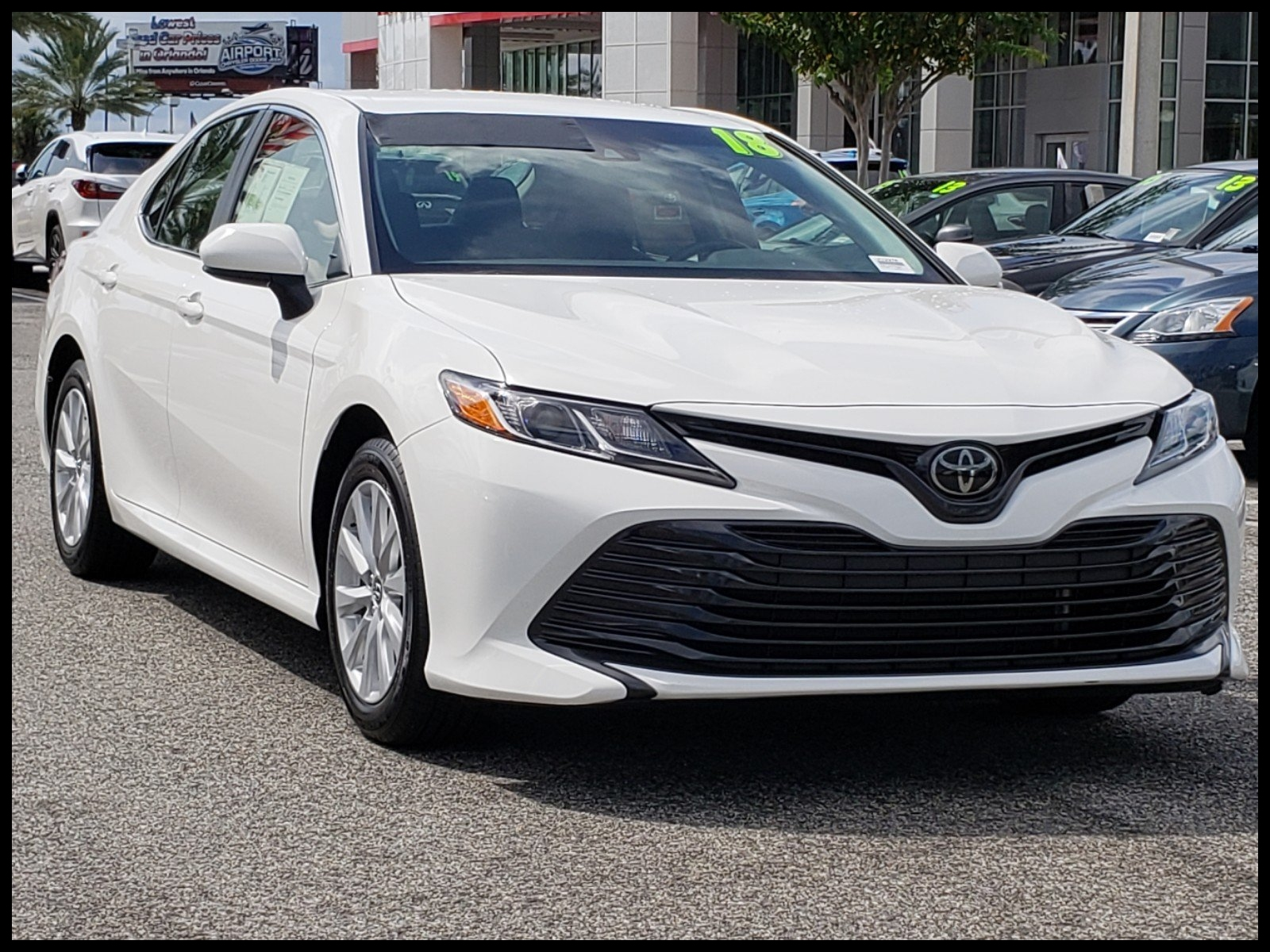 Pre Owned 2018 Toyota Camry LE