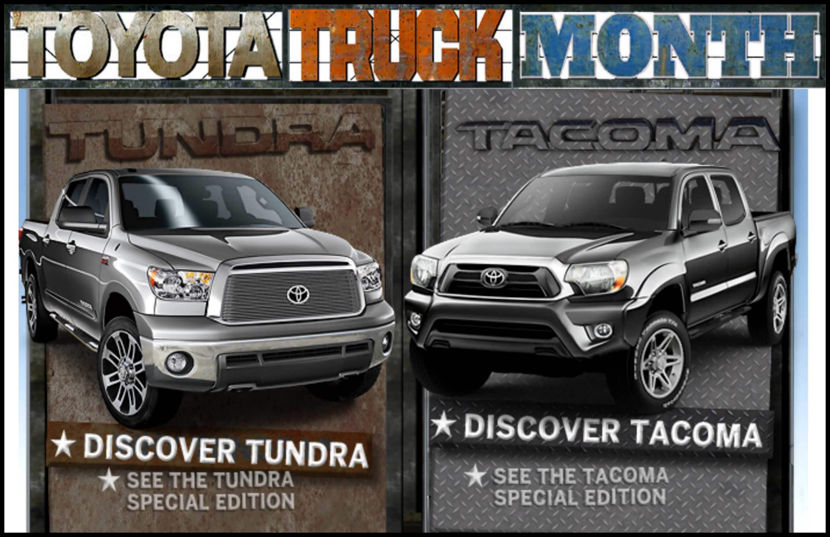 Toyota Truck Month Canton MI