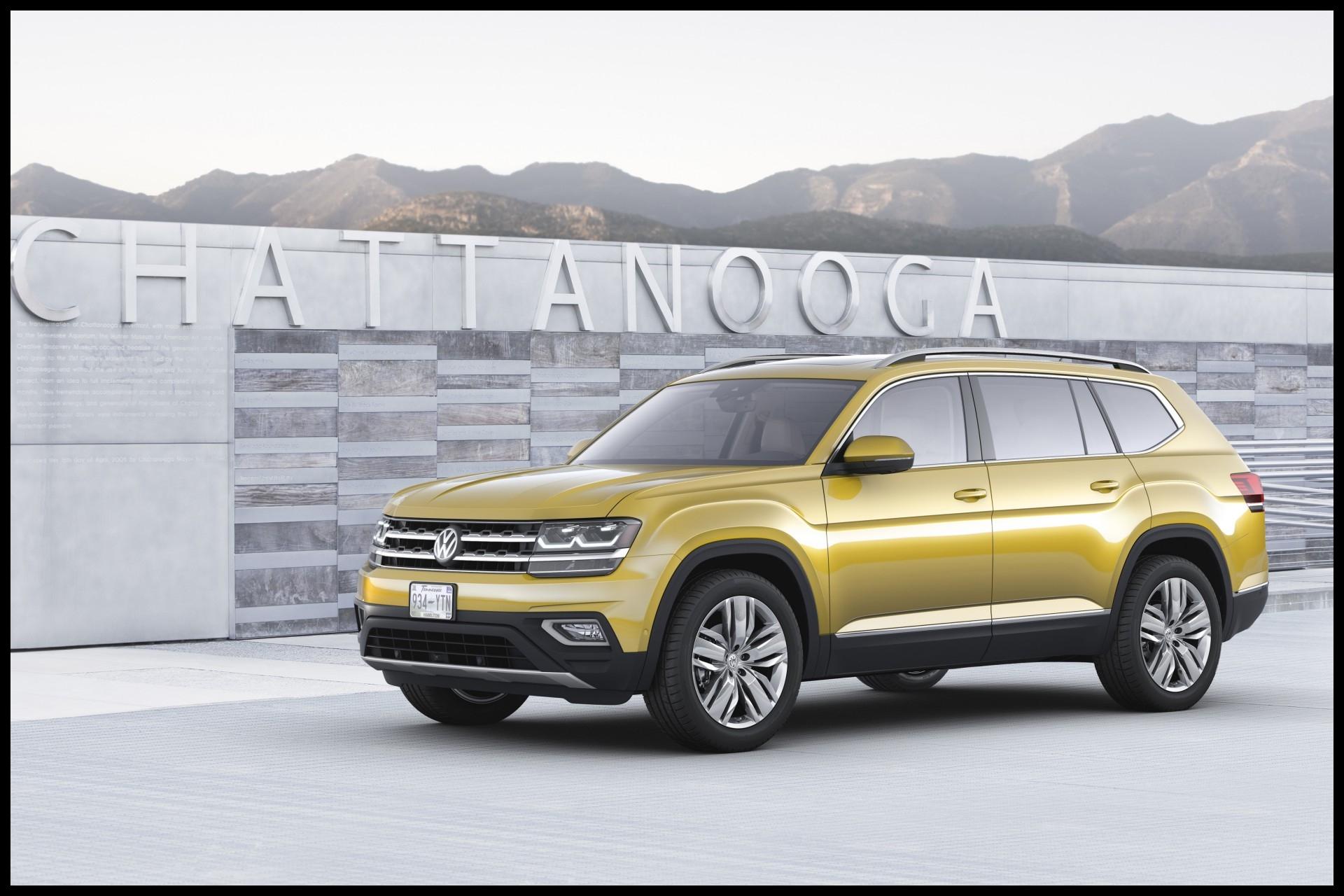 Volkswagen Atlas 2017