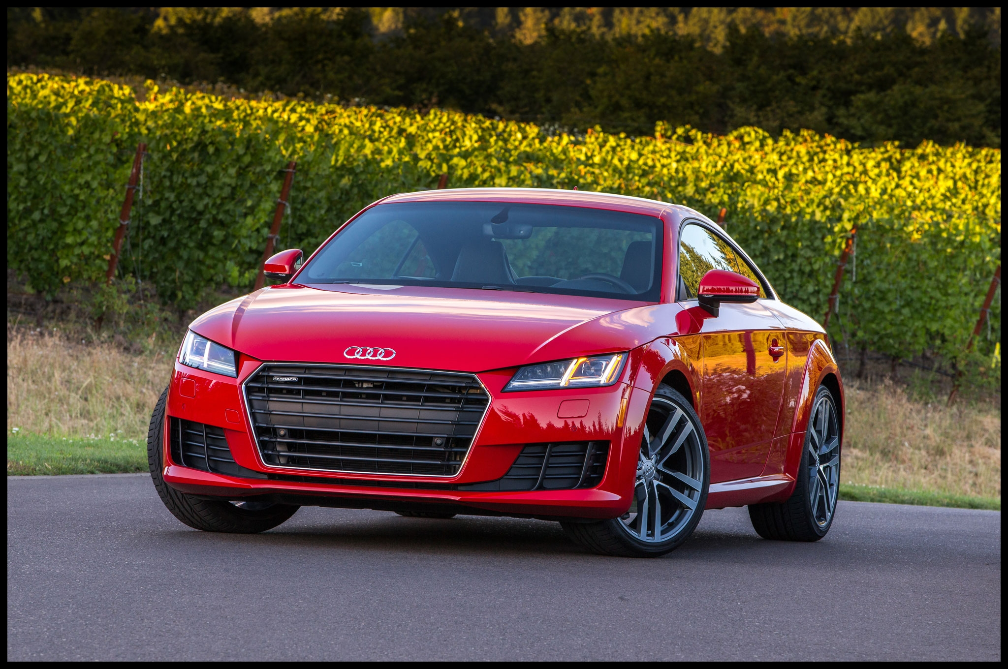 2016 Audi TT Front Three Quarter 1
